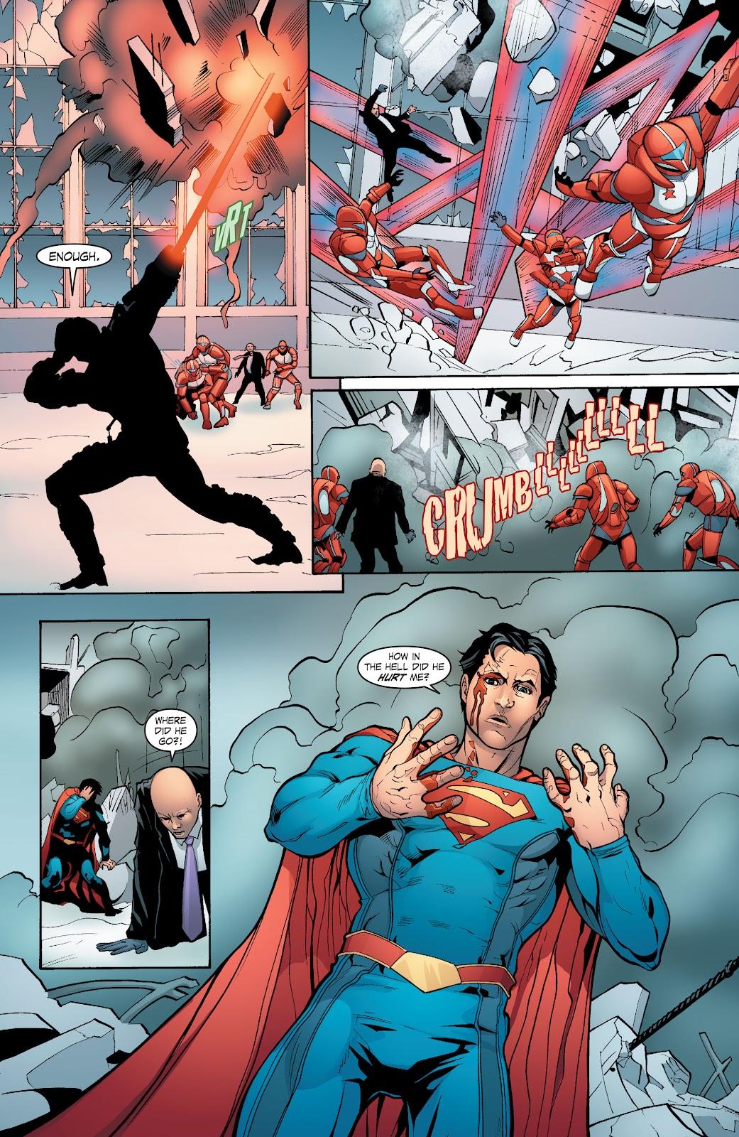 Read online Smallville Season 11 [II] comic -  Issue # TPB 6 - 110