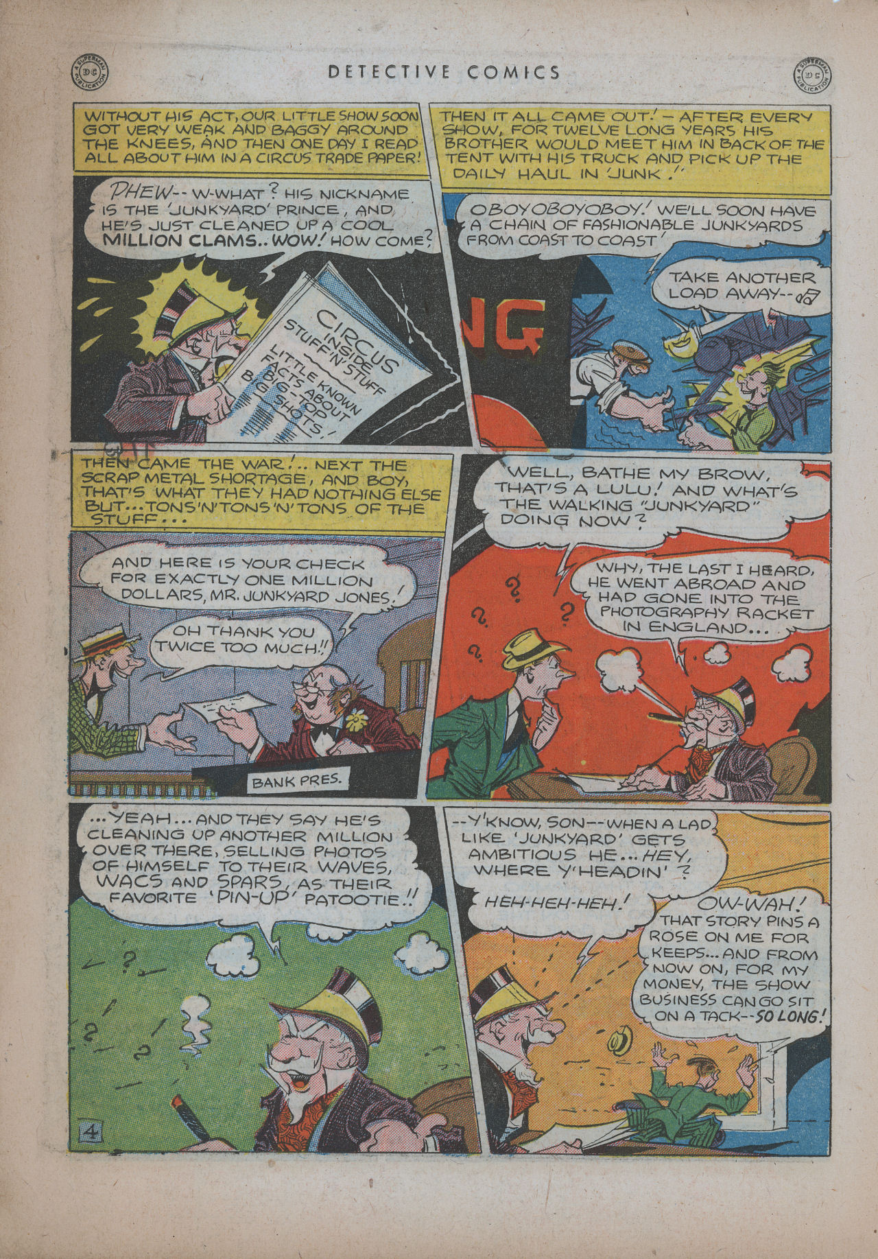 Read online Detective Comics (1937) comic -  Issue #94 - 20