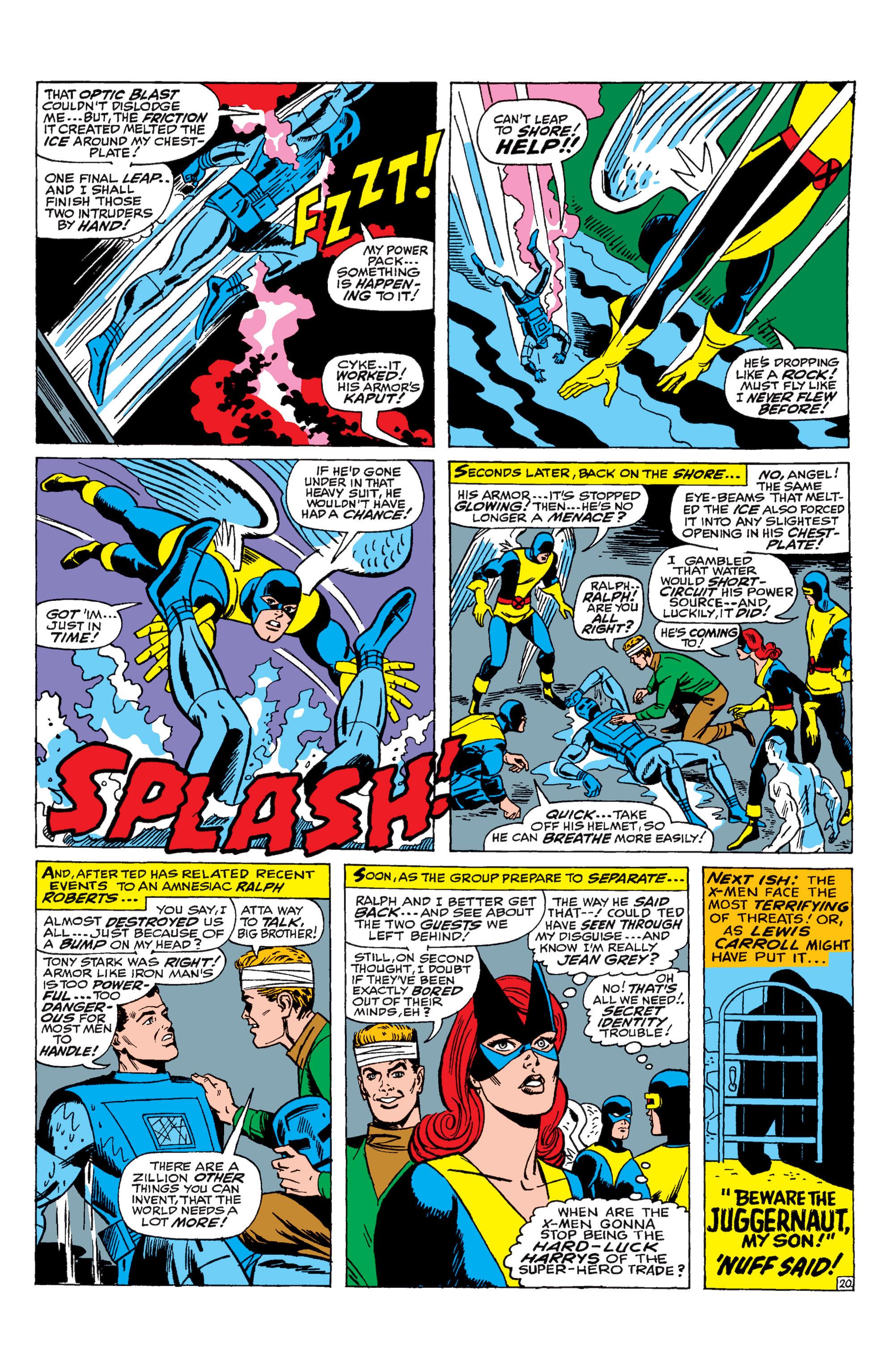 Read online Uncanny X-Men (1963) comic -  Issue #31 - 21