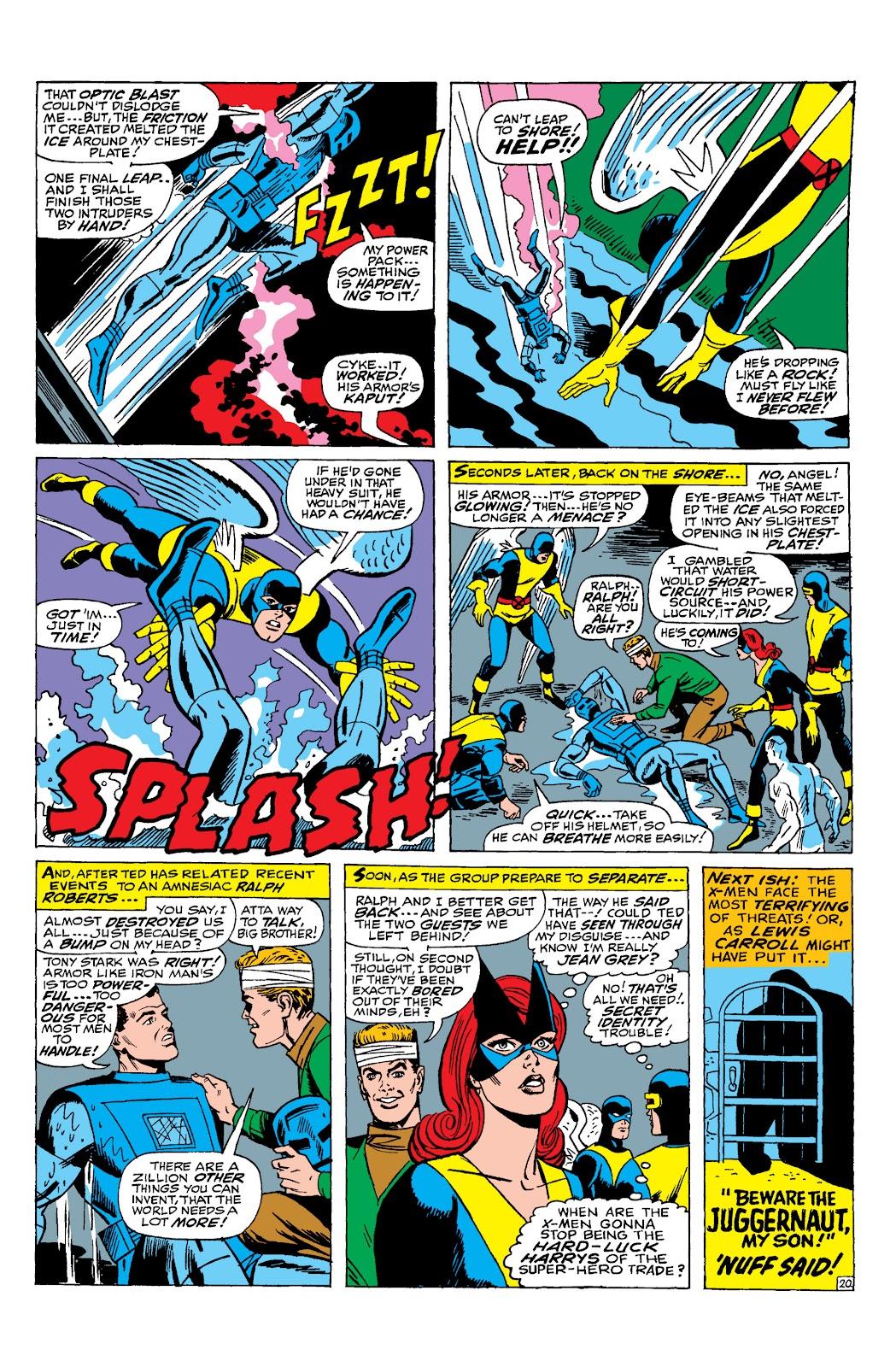 Uncanny X-Men (1963) issue 31 - Page 21