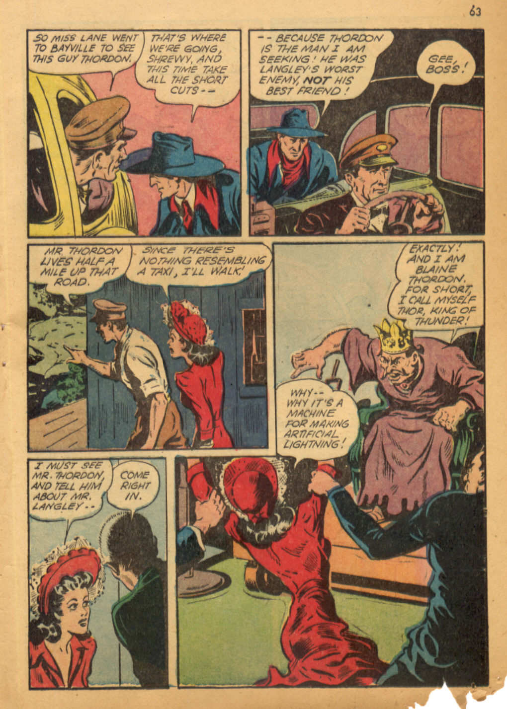 Read online Shadow Comics comic -  Issue #32 - 64