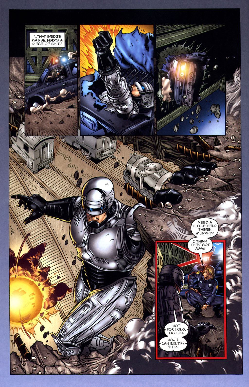 Read online Robocop: Wild Child comic -  Issue # Full - 8