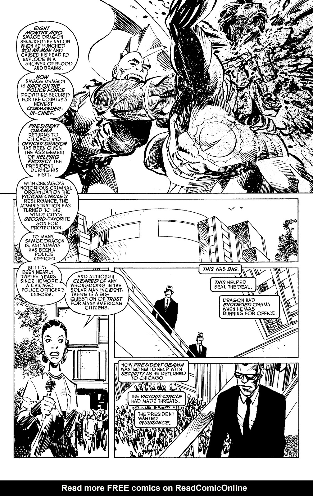 Read online Savage Dragon Archives comic -  Issue # TPB 6 (Part 4) - 84