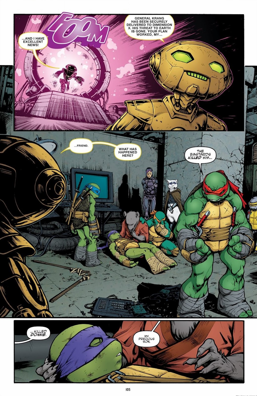 Read online Teenage Mutant Ninja Turtles: The IDW Collection comic -  Issue # TPB 6 (Part 2) - 4