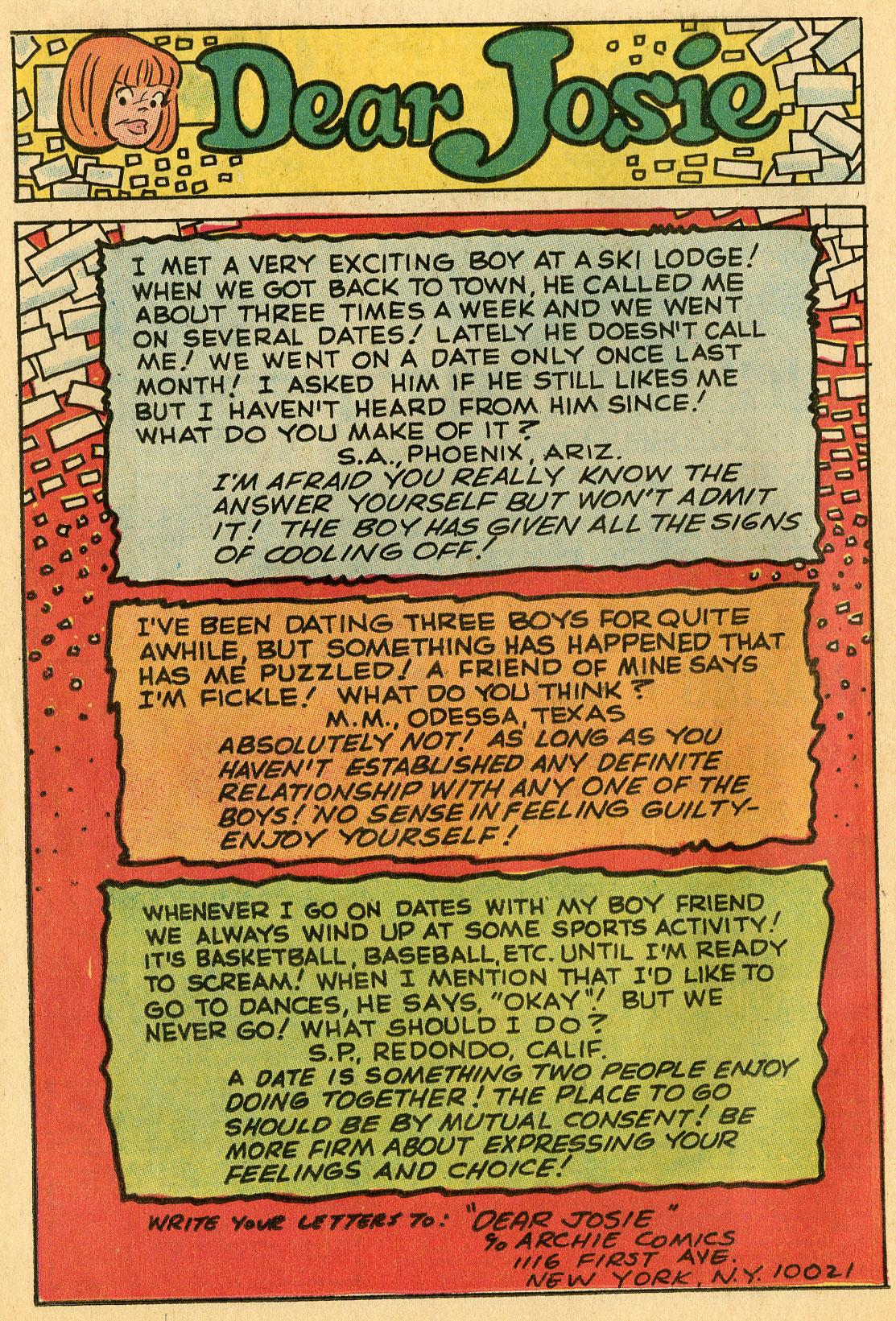 Read online She's Josie comic -  Issue #48 - 26