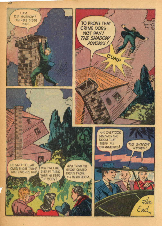 Read online Shadow Comics comic -  Issue #32 - 31