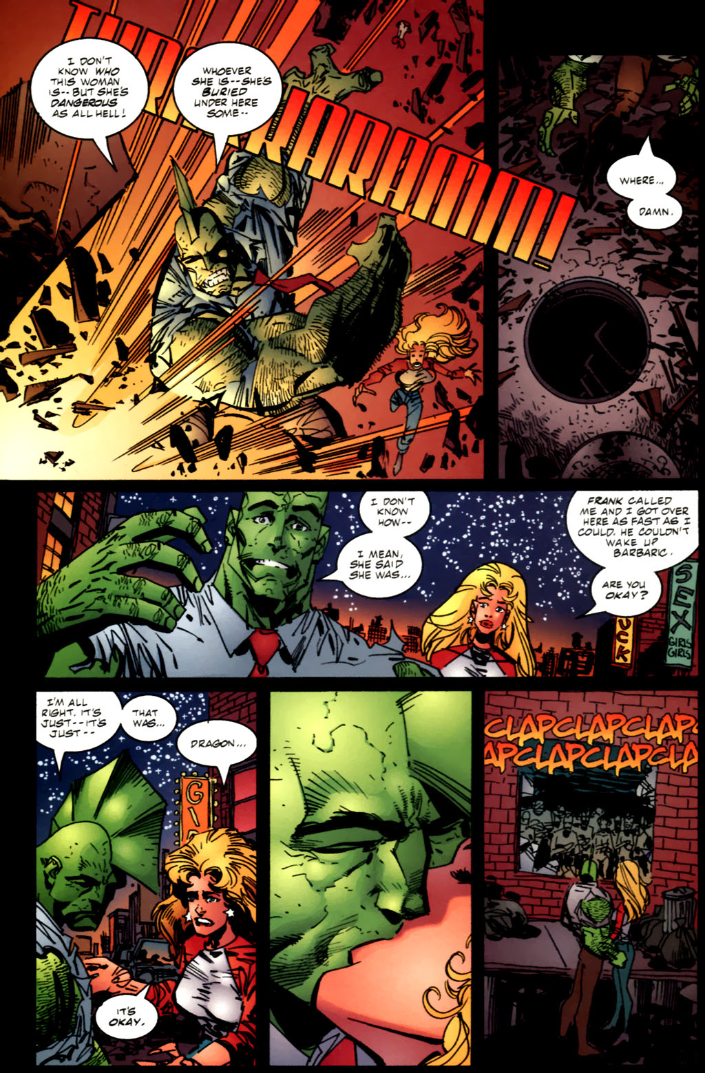 The Savage Dragon (1993) Issue #61 #64 - English 19