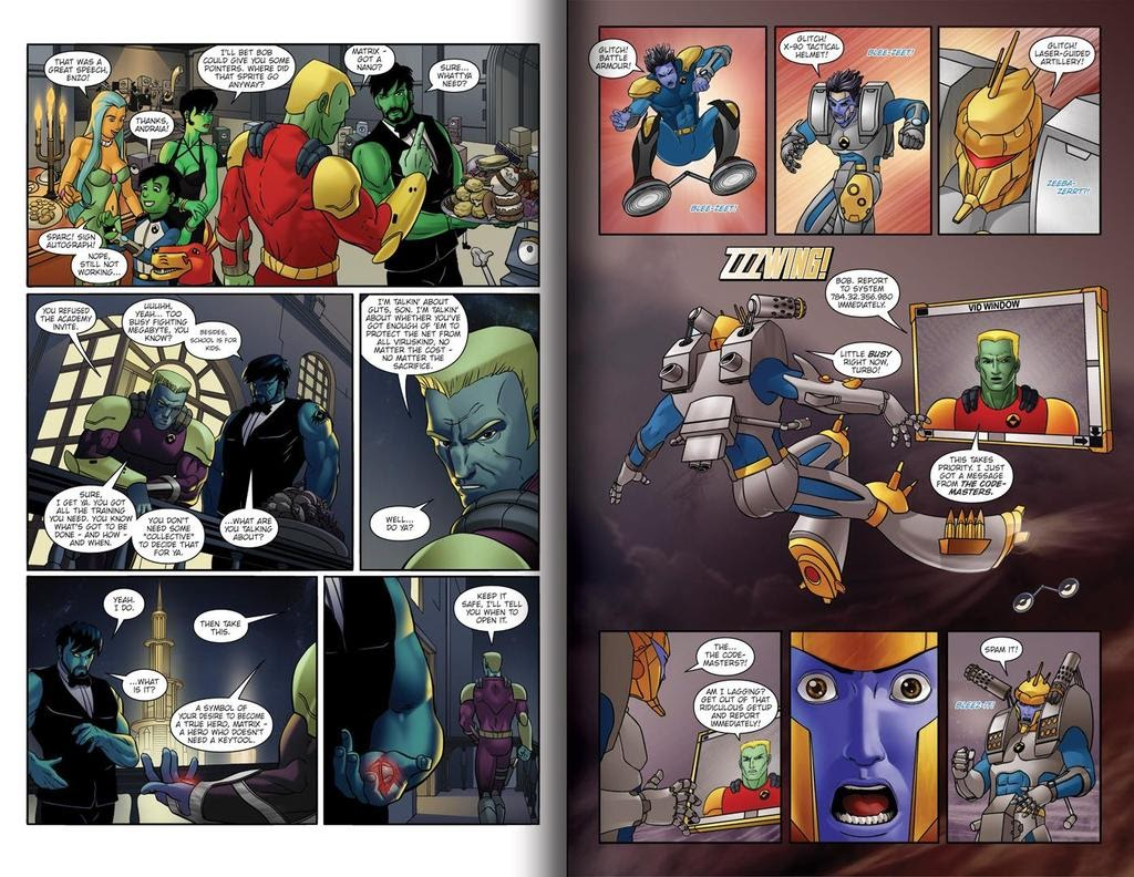 Read online ReBoot: Paradigms Lost comic -  Issue # Full - 7