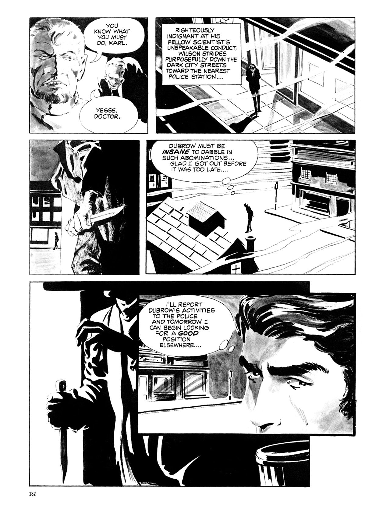 Read online Eerie Archives comic -  Issue # TPB 6 - 182