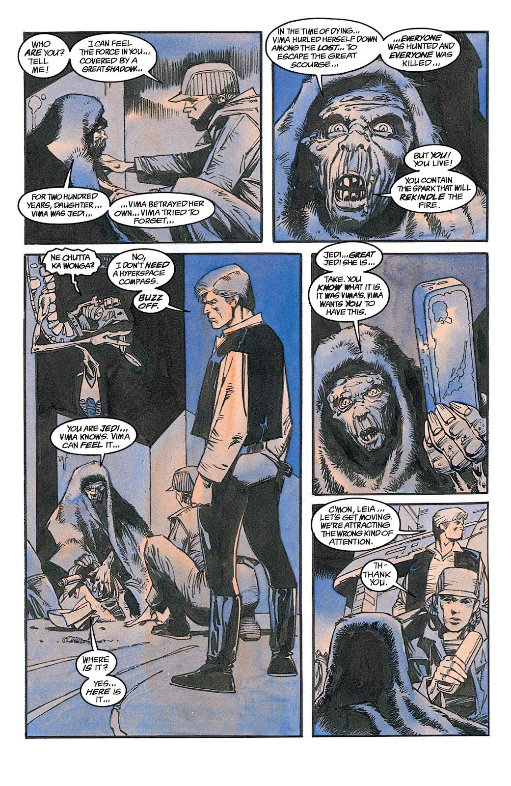 Read online Star Wars: Dark Empire Trilogy comic -  Issue # TPB (Part 1) - 79