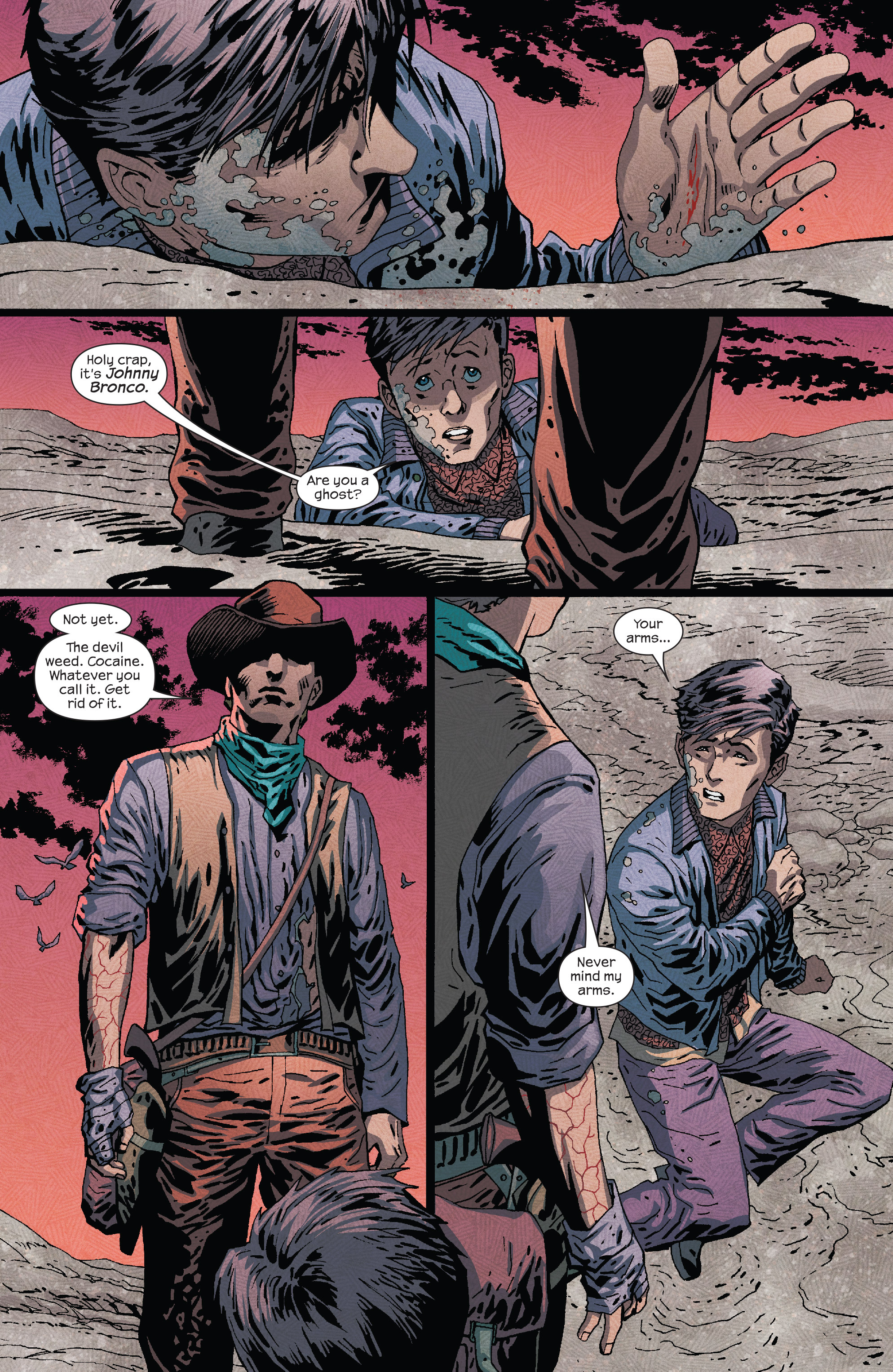 Read online Dark Tower: The Drawing of the Three - The Prisoner comic -  Issue #5 - 19