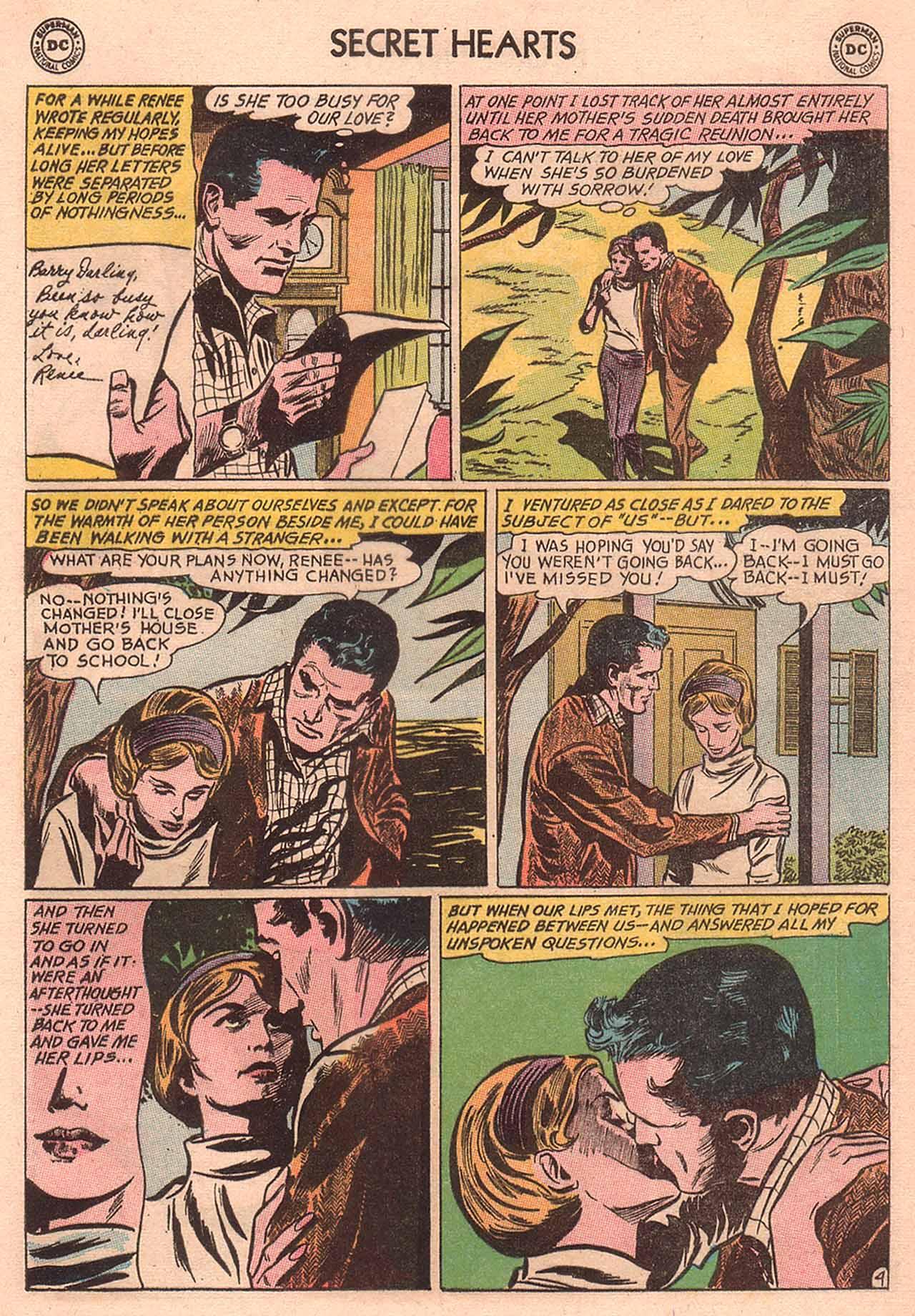 Read online Secret Hearts comic -  Issue #94 - 21