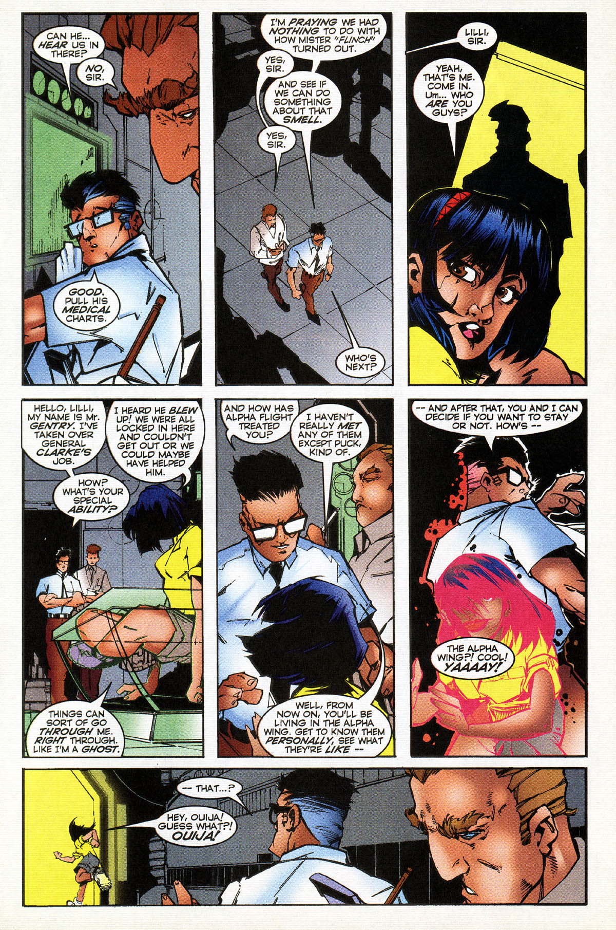 Read online Alpha Flight (1997) comic -  Issue #14 - 15