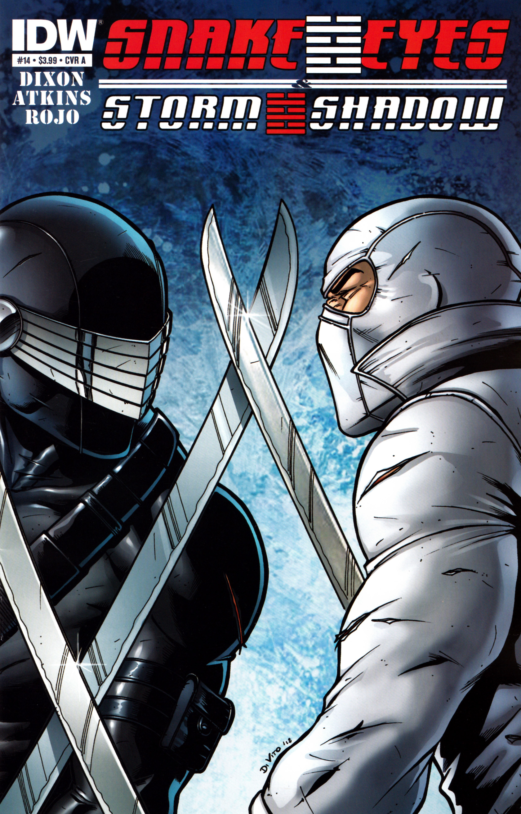 Read online Snake Eyes and Storm Shadow comic -  Issue #14 - 1