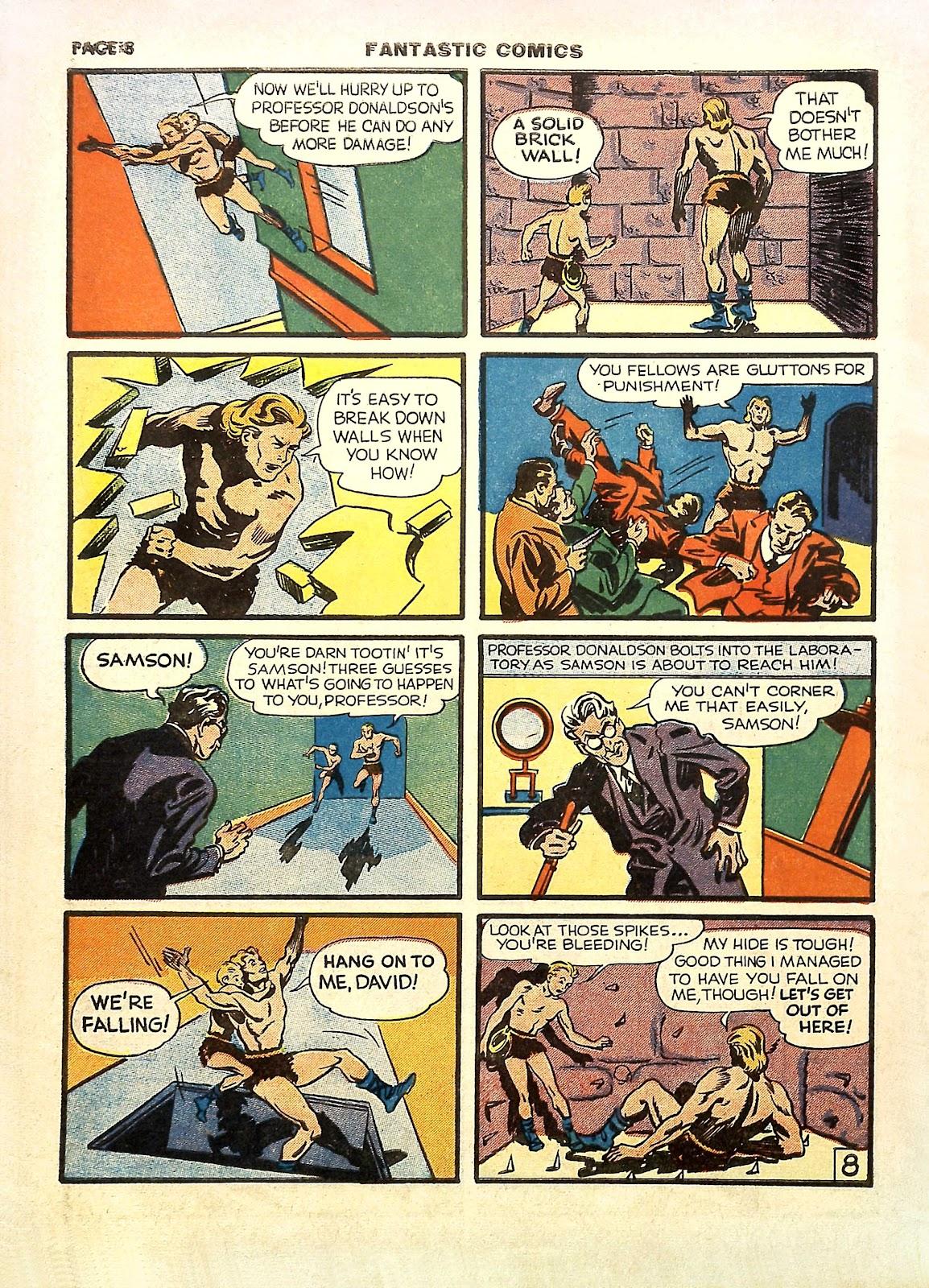 Read online Fantastic Comics comic -  Issue #11 - 11