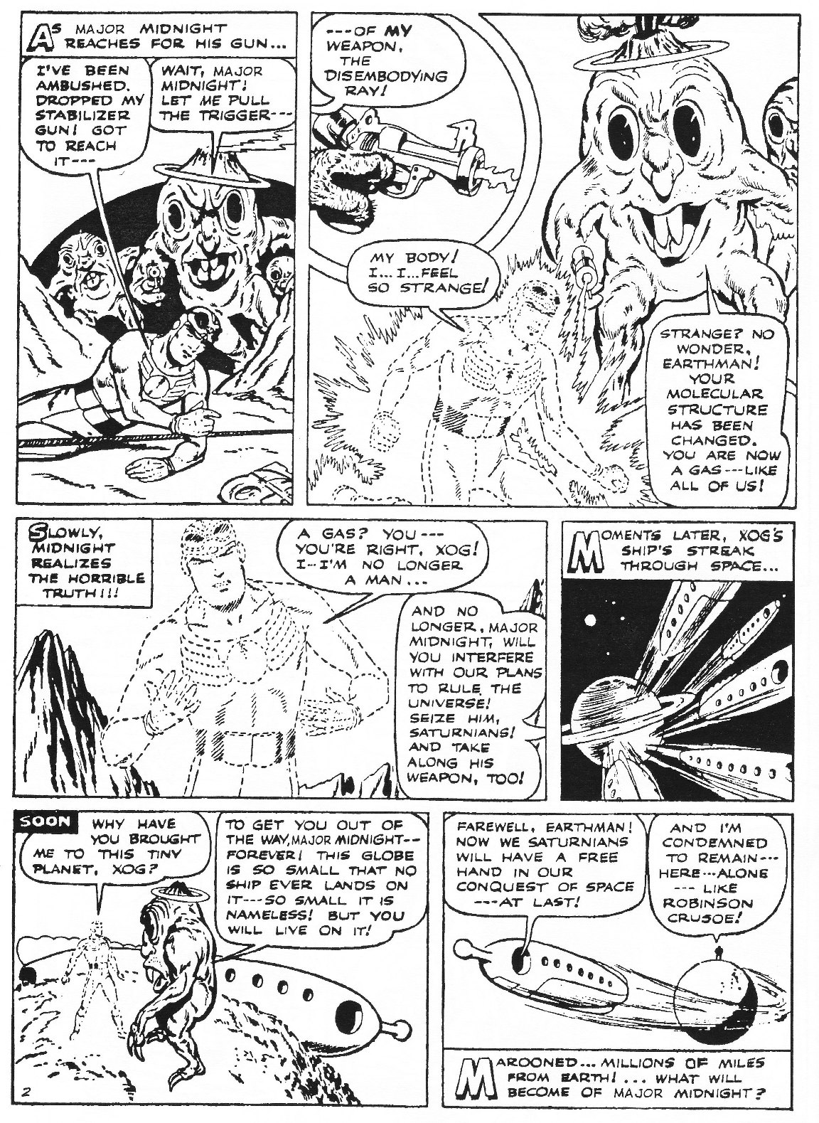 Read online Men of Mystery Comics comic -  Issue #77 - 62