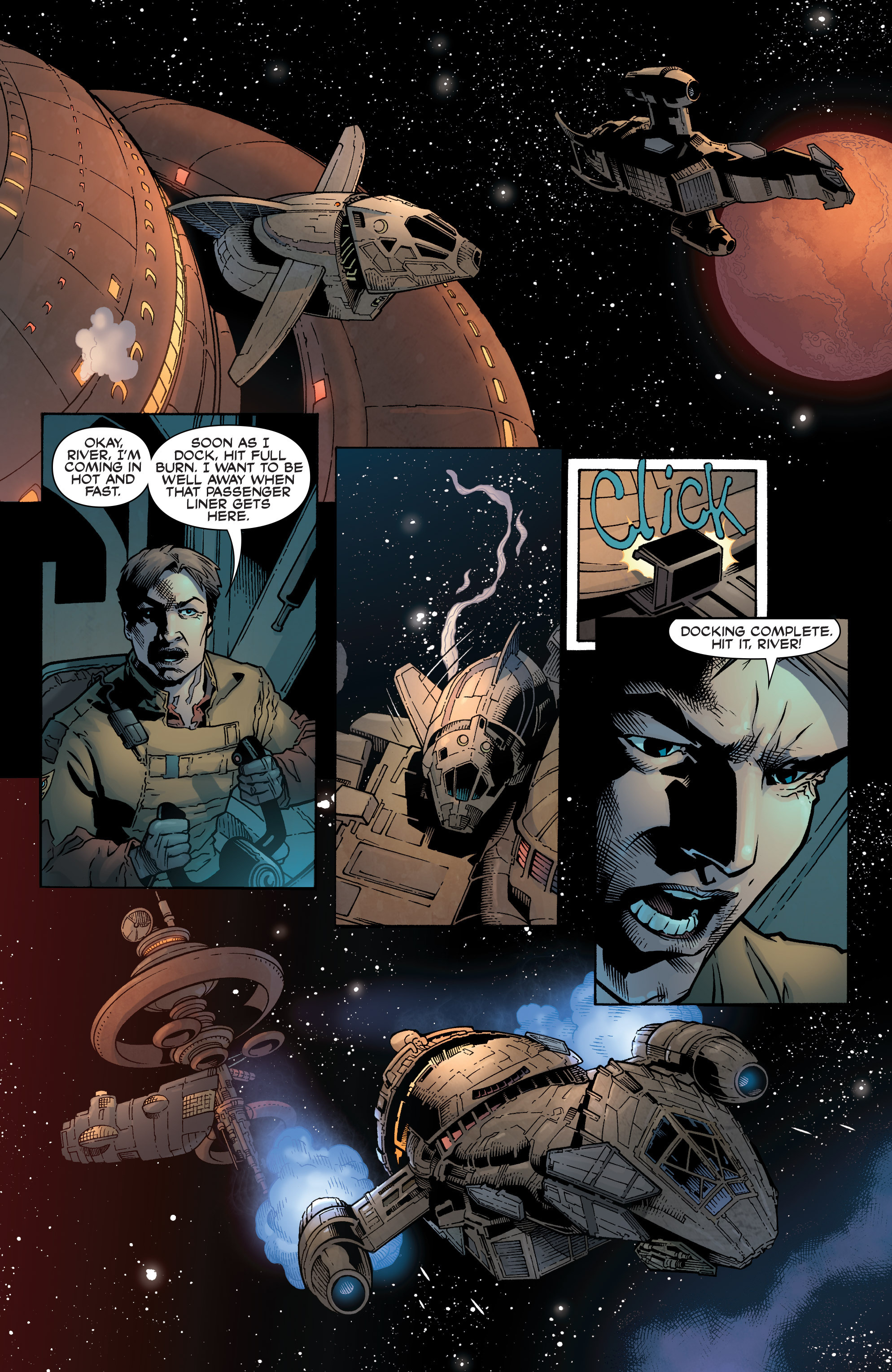 Read online Serenity: Firefly Class 03-K64 – No Power in the 'Verse comic -  Issue #1 - 15