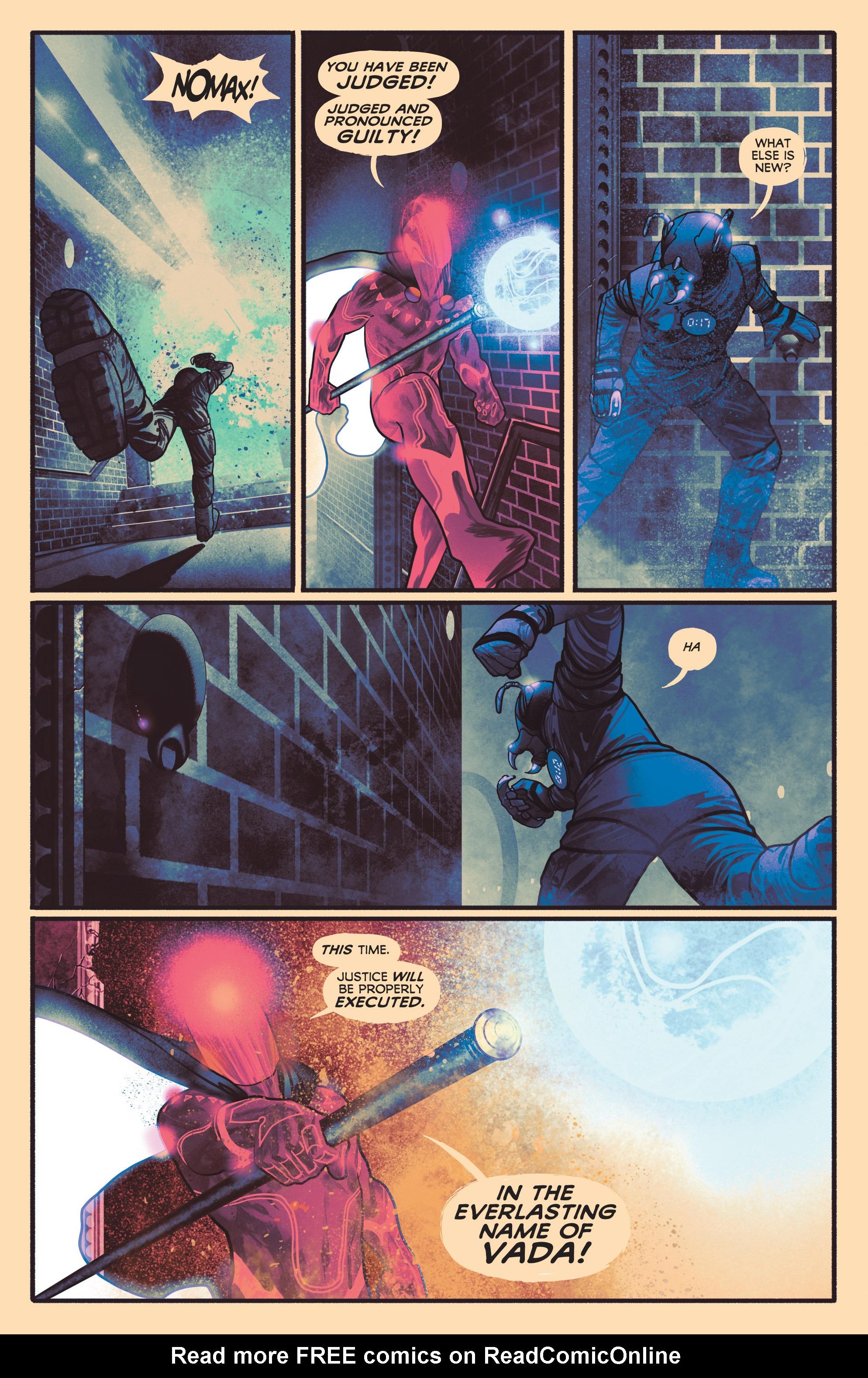 Read online Annihilator comic -  Issue #1 - 4