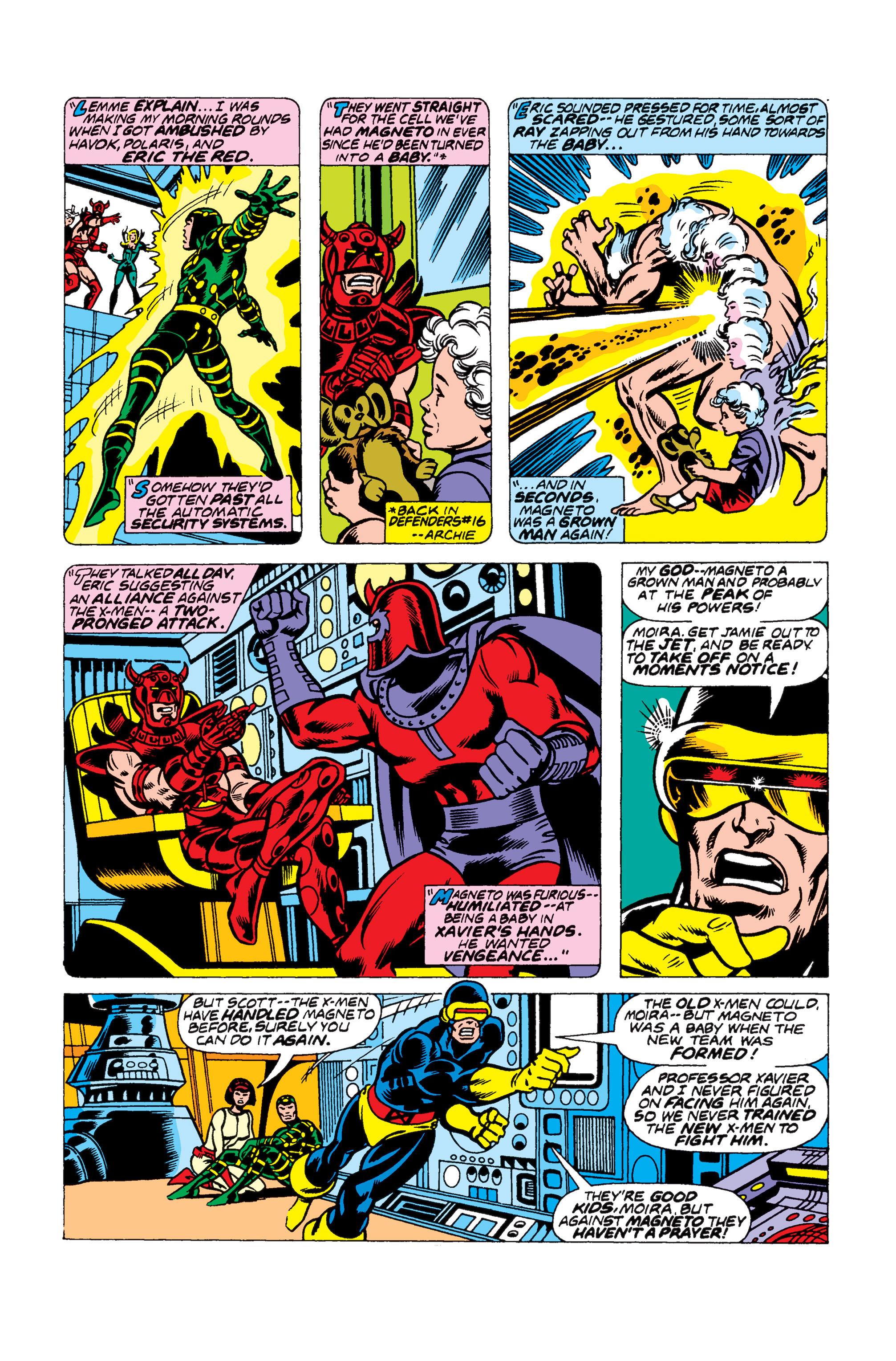 Read online Uncanny X-Men (1963) comic -  Issue #104 - 9