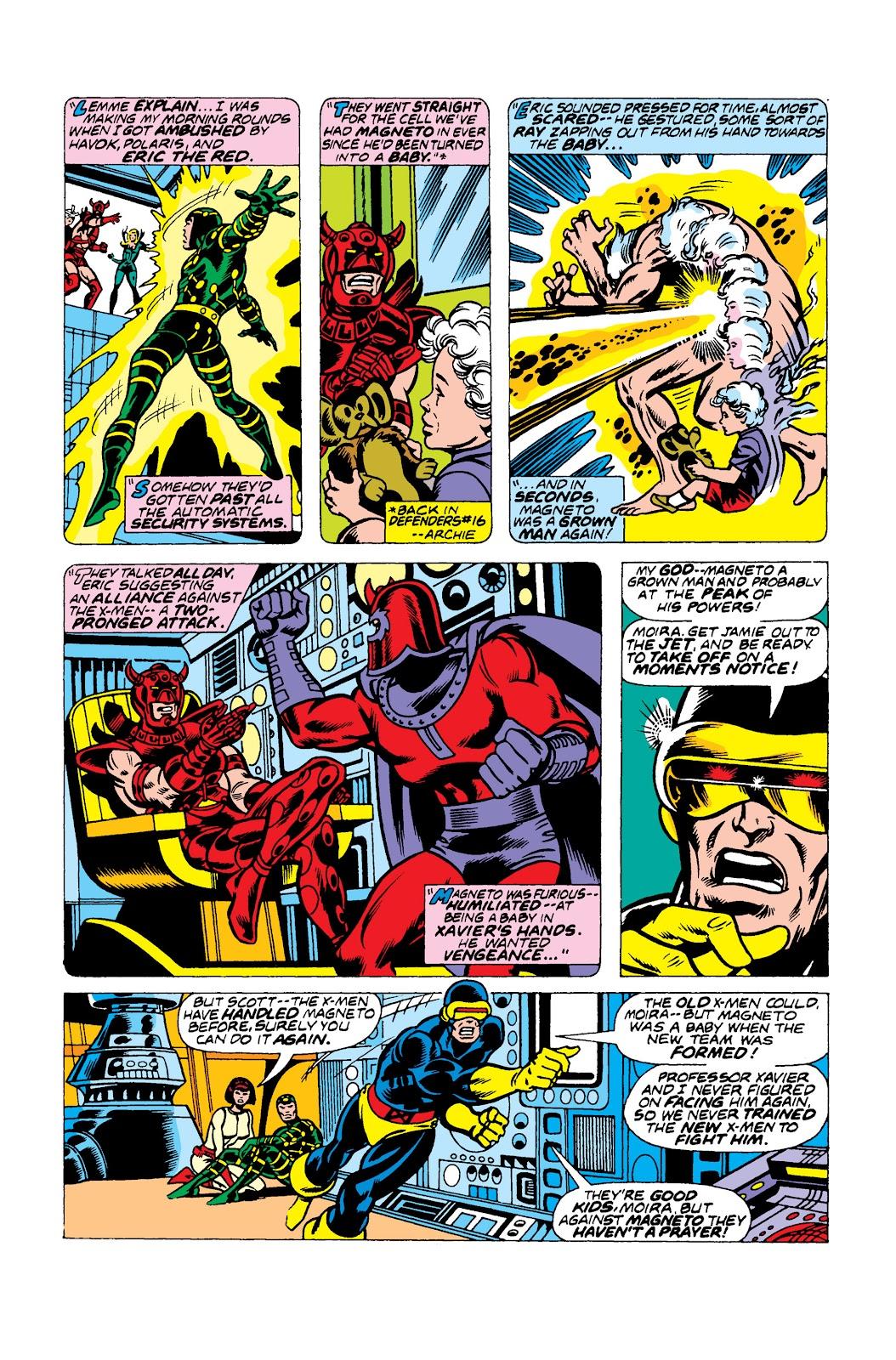Uncanny X-Men (1963) issue 104 - Page 9