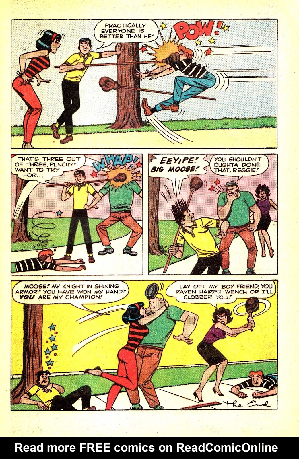 Read online Archie (1960) comic -  Issue #165 - 33