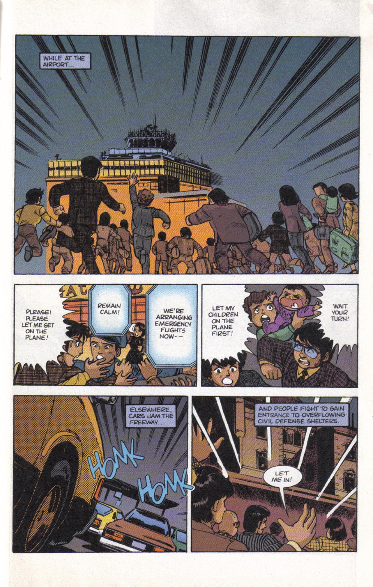 Read online Dark Horse Classics: Terror of Godzilla comic -  Issue #3 - 23