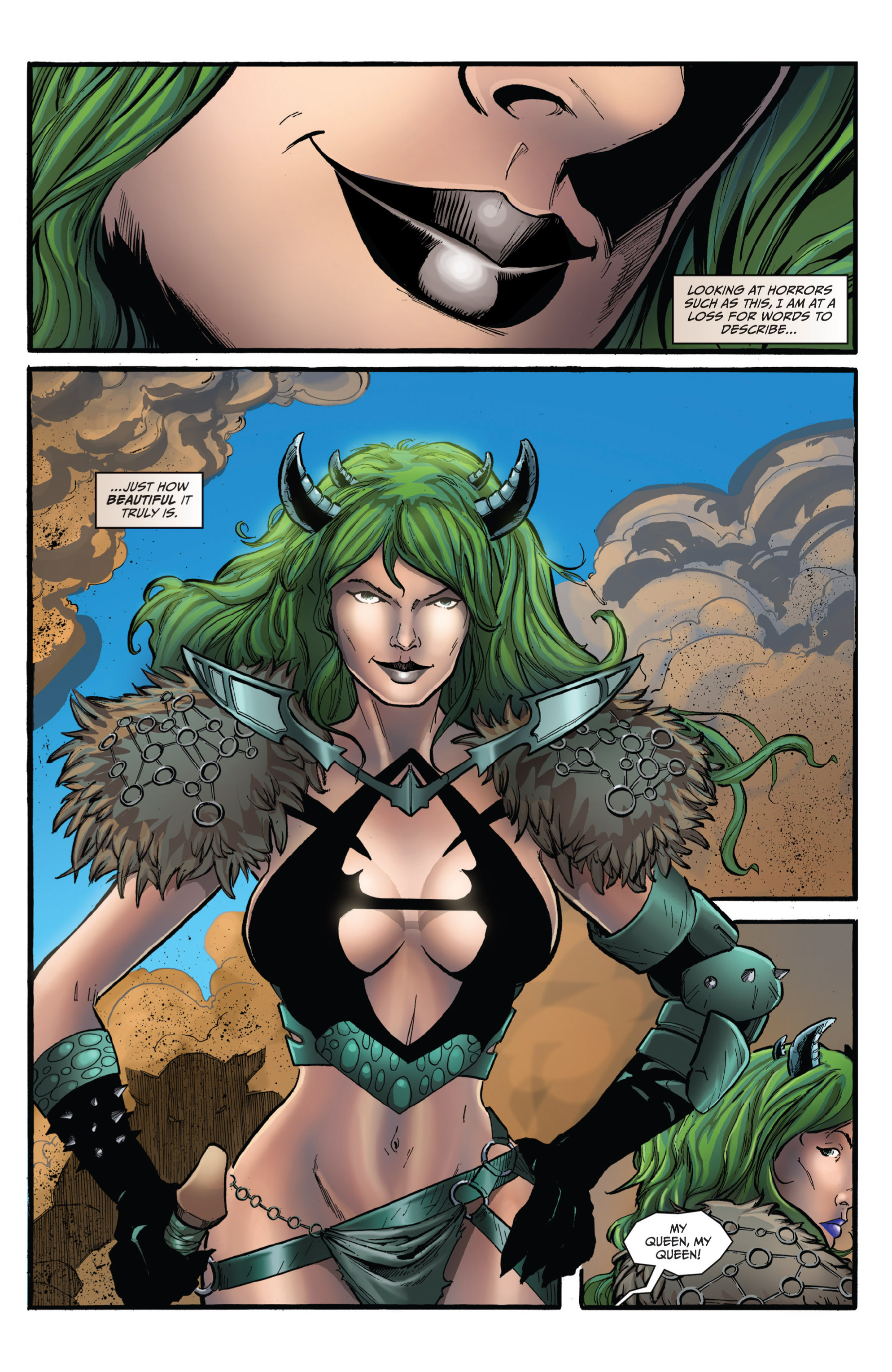 Read online Grimm Fairy Tales presents Grimm Universe comic -  Issue # TPB - 101
