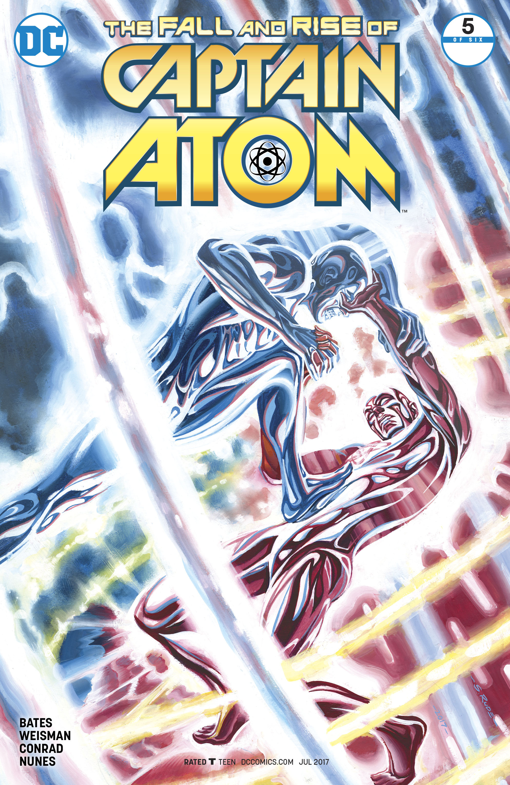 Read online The Fall and Rise of Captain Atom comic -  Issue #5 - 1