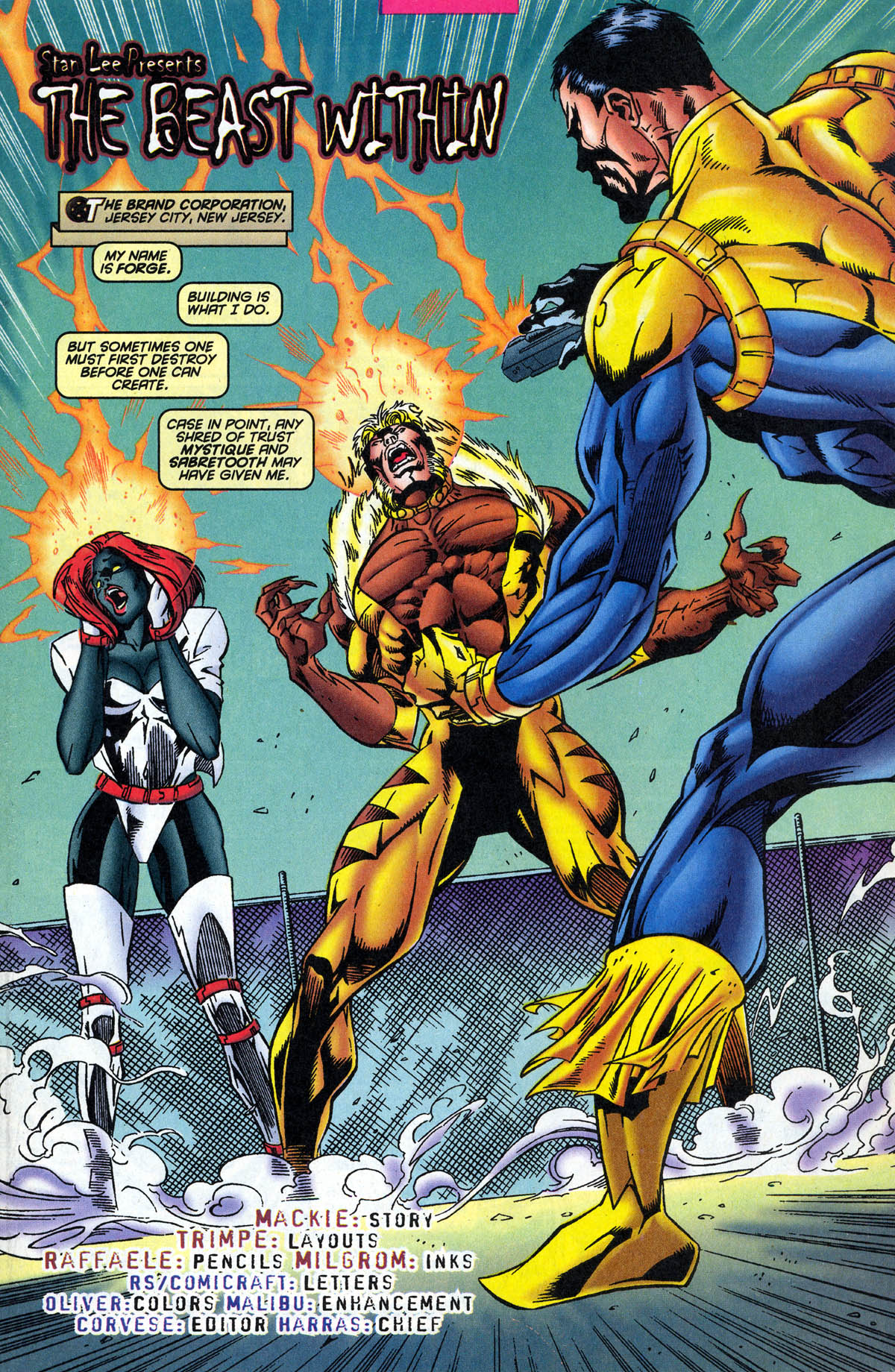 Read online X-Factor (1986) comic -  Issue #126 - 3