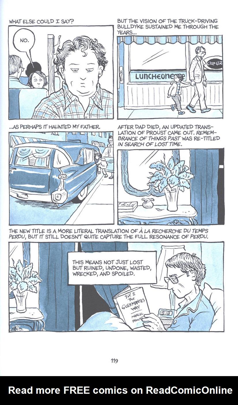 Read online Fun Home: A Family Tragicomic comic -  Issue # TPB - 125