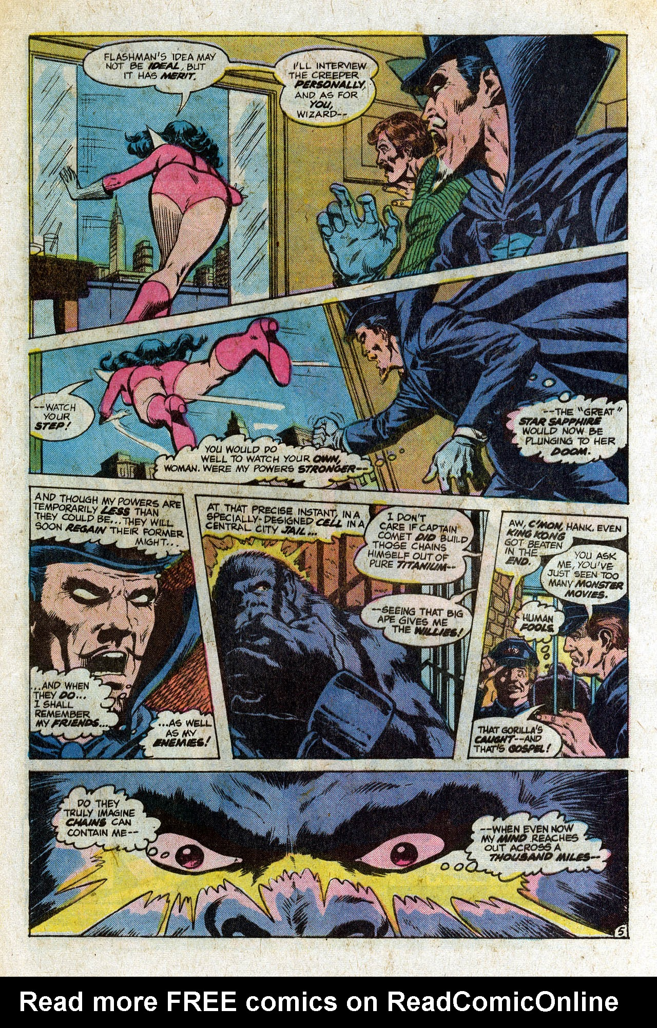 Read online Secret Society of Super-Villains comic -  Issue #9 - 9