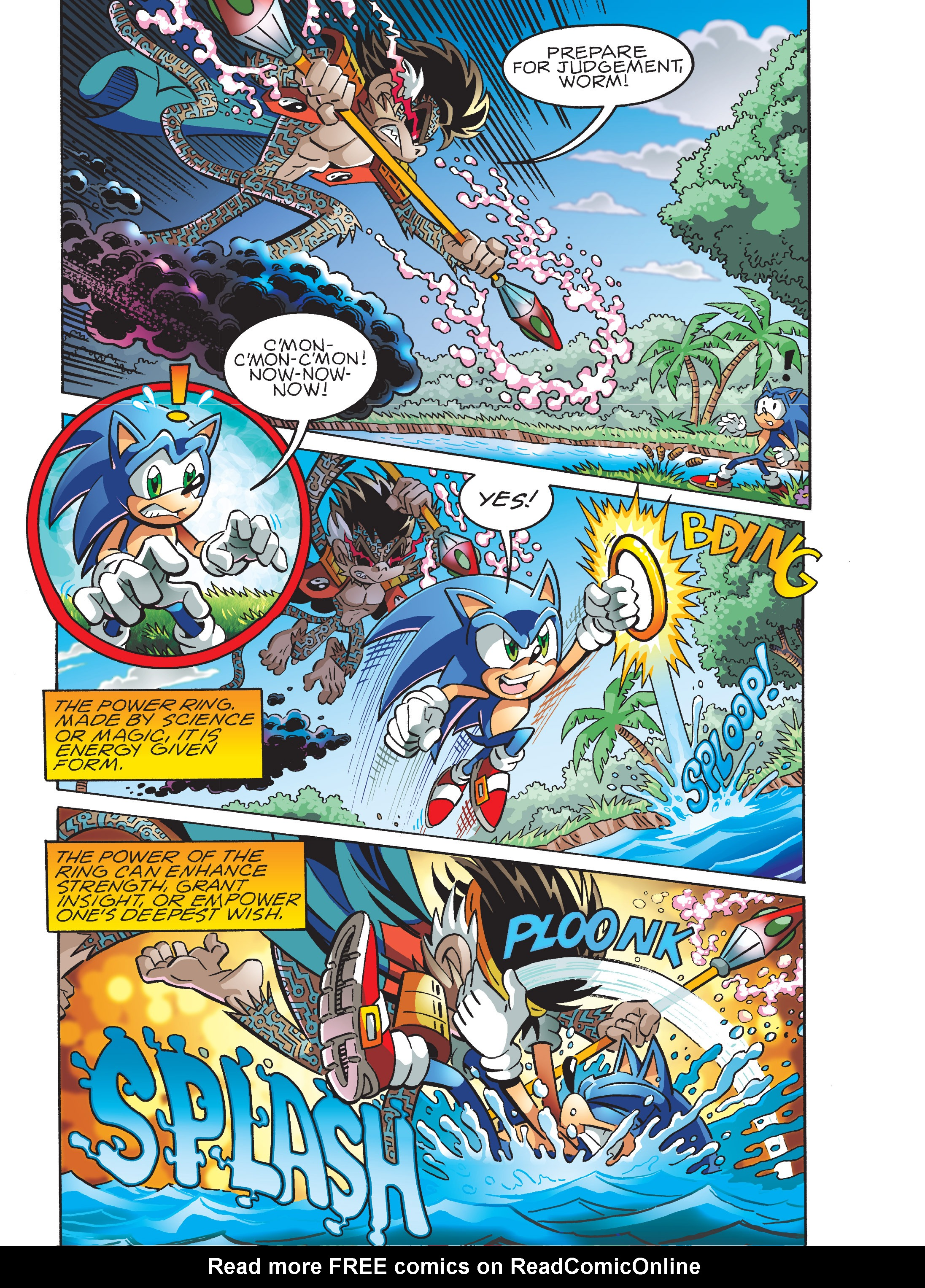 Read online Sonic Super Digest comic -  Issue #7 - 35