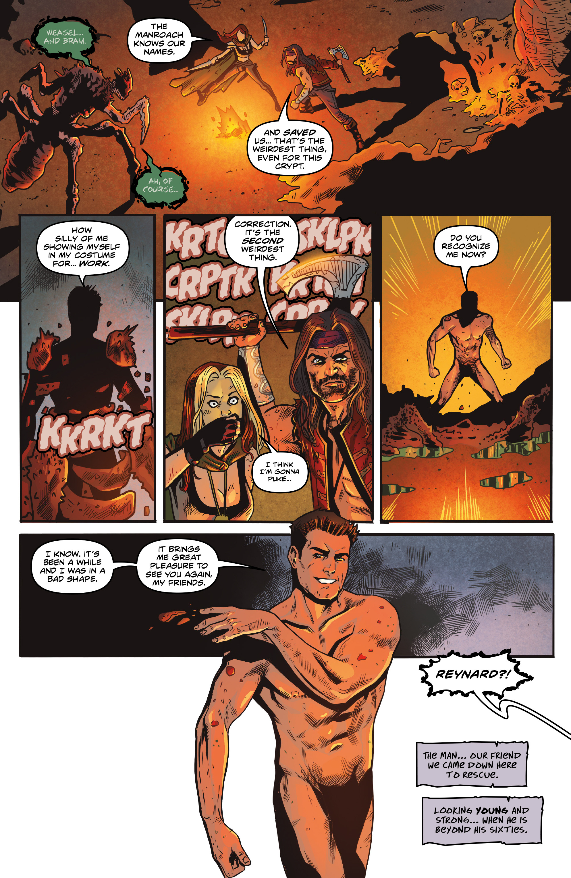 Read online Rogues!: The Burning Heart comic -  Issue #5 - 9