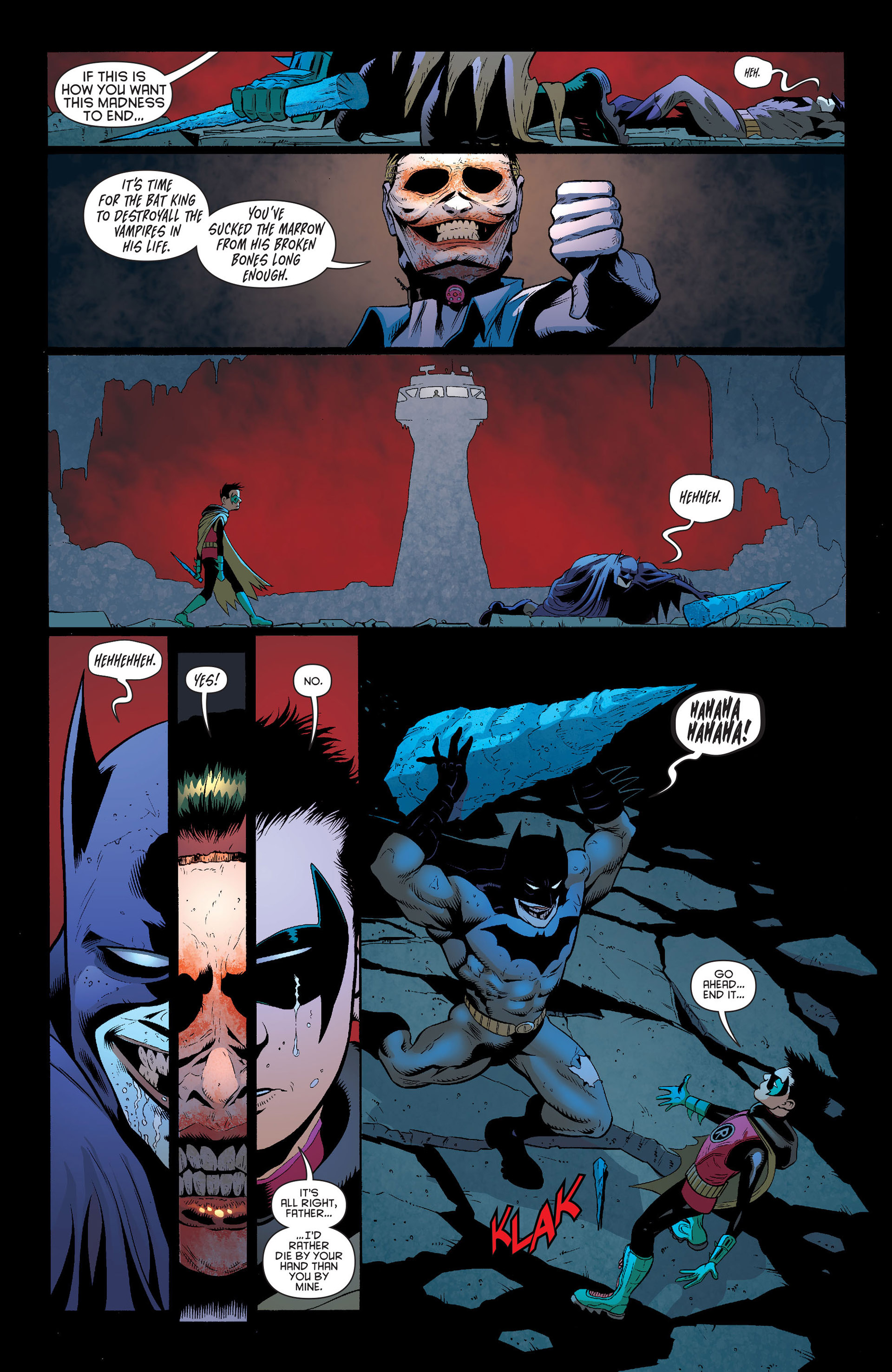 Read online Batman and Robin (2011) comic -  Issue #16 - 15