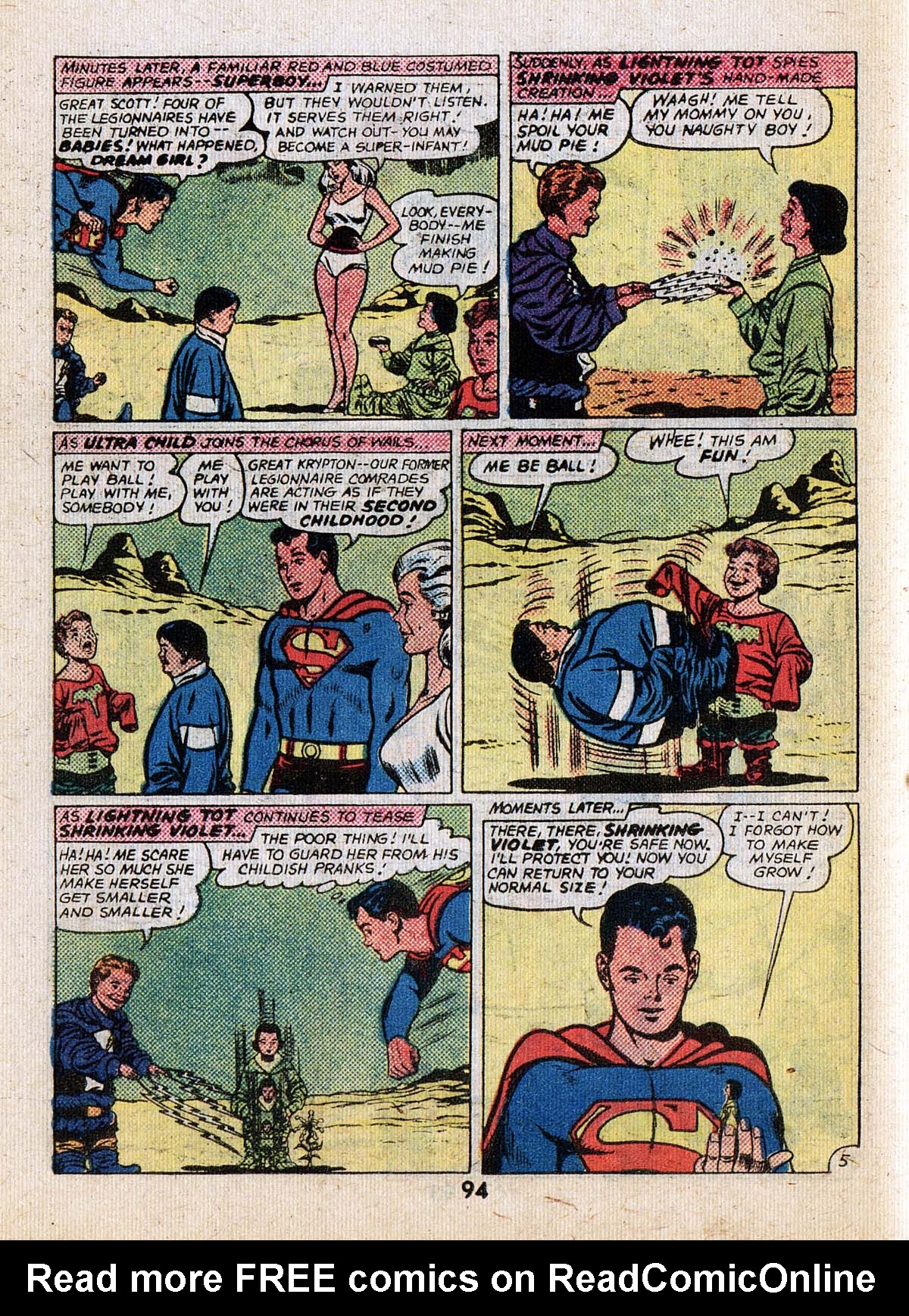 Read online Adventure Comics (1938) comic -  Issue #502 - 94