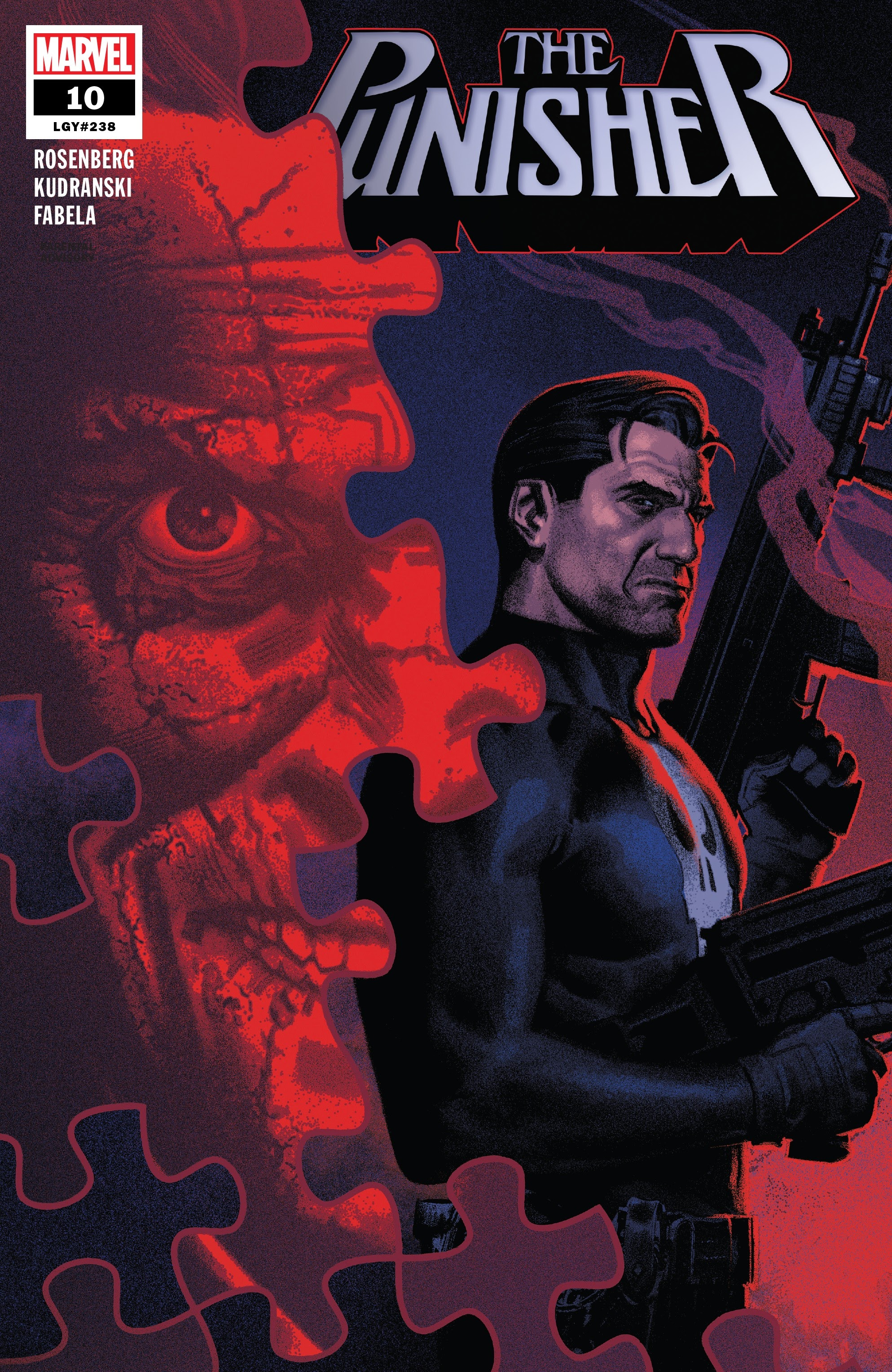 The Punisher (2018) 10 Page 1