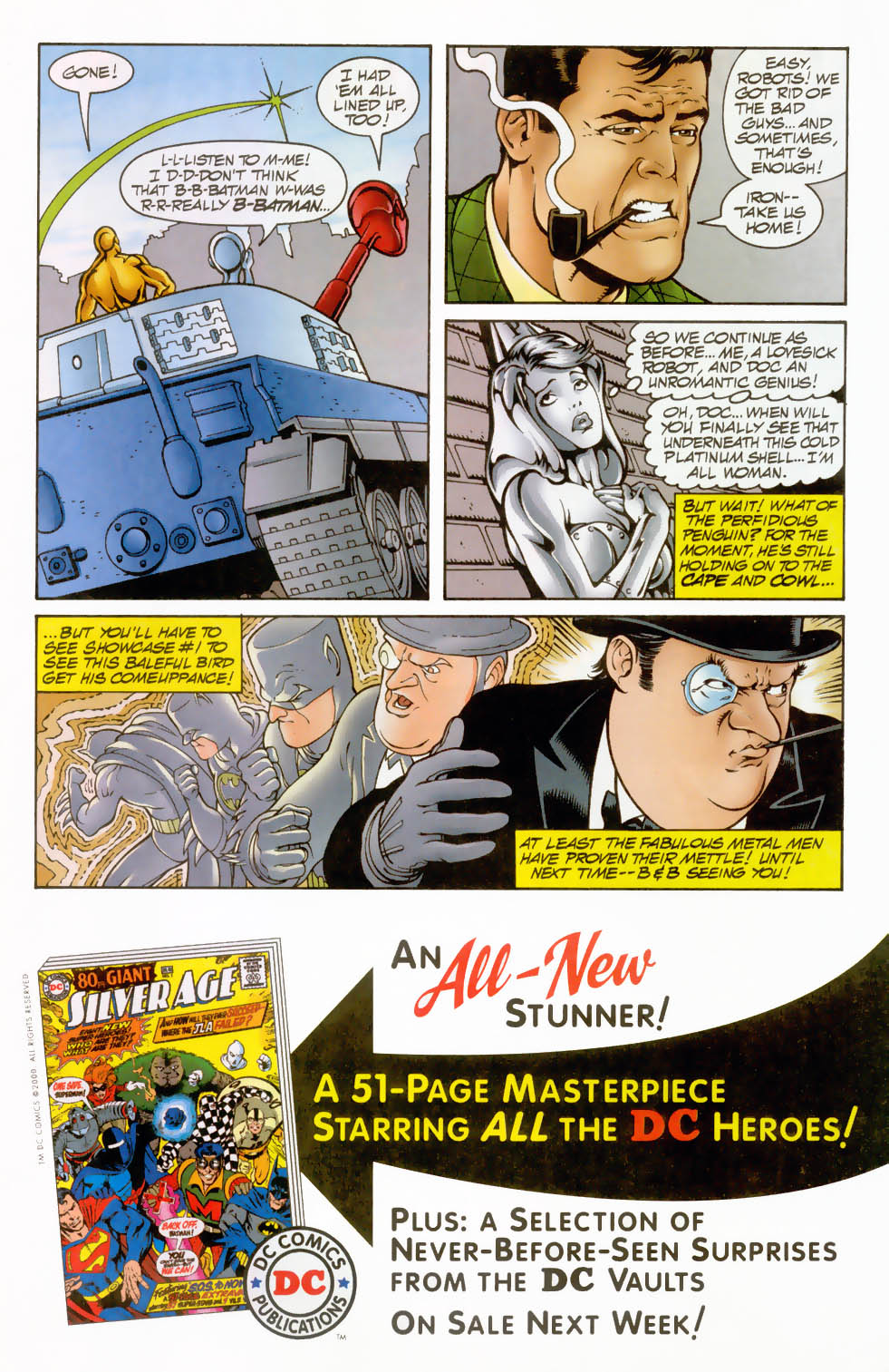 Read online Silver Age: The Brave and the Bold comic -  Issue # Full - 23