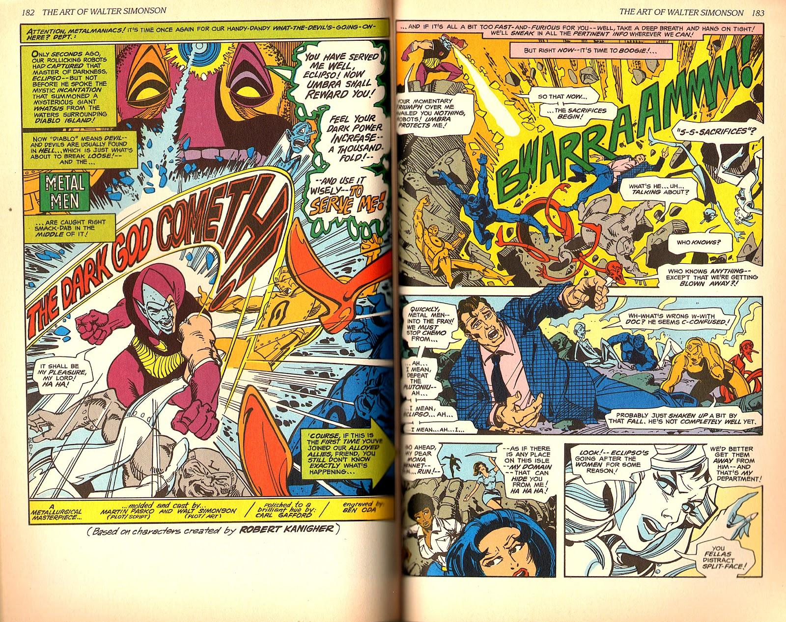Read online The Art of Walter Simonson comic -  Issue # TPB - 93