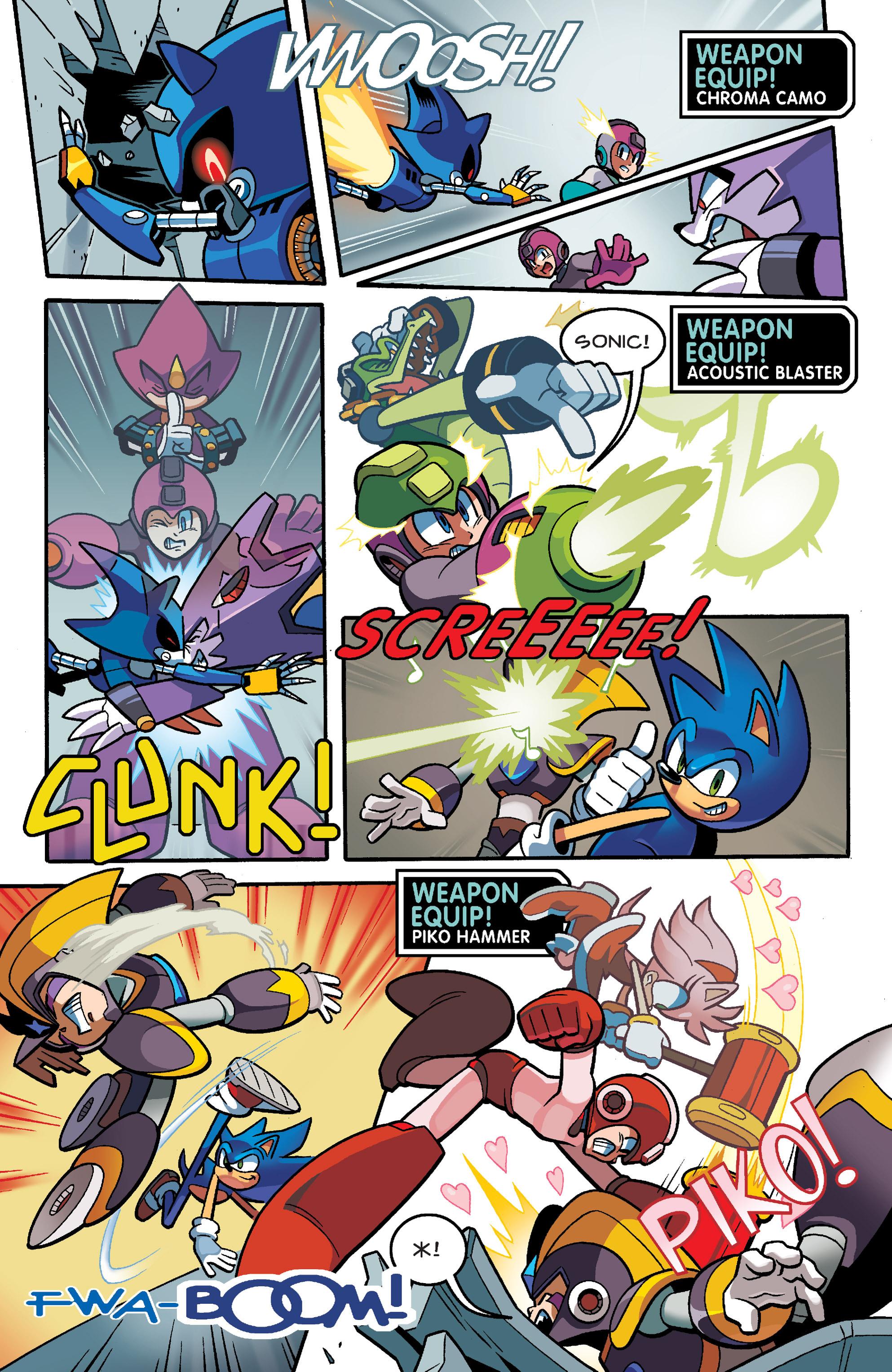Read online Sonic Mega Man Worlds Collide comic -  Issue # Vol 3 - 84