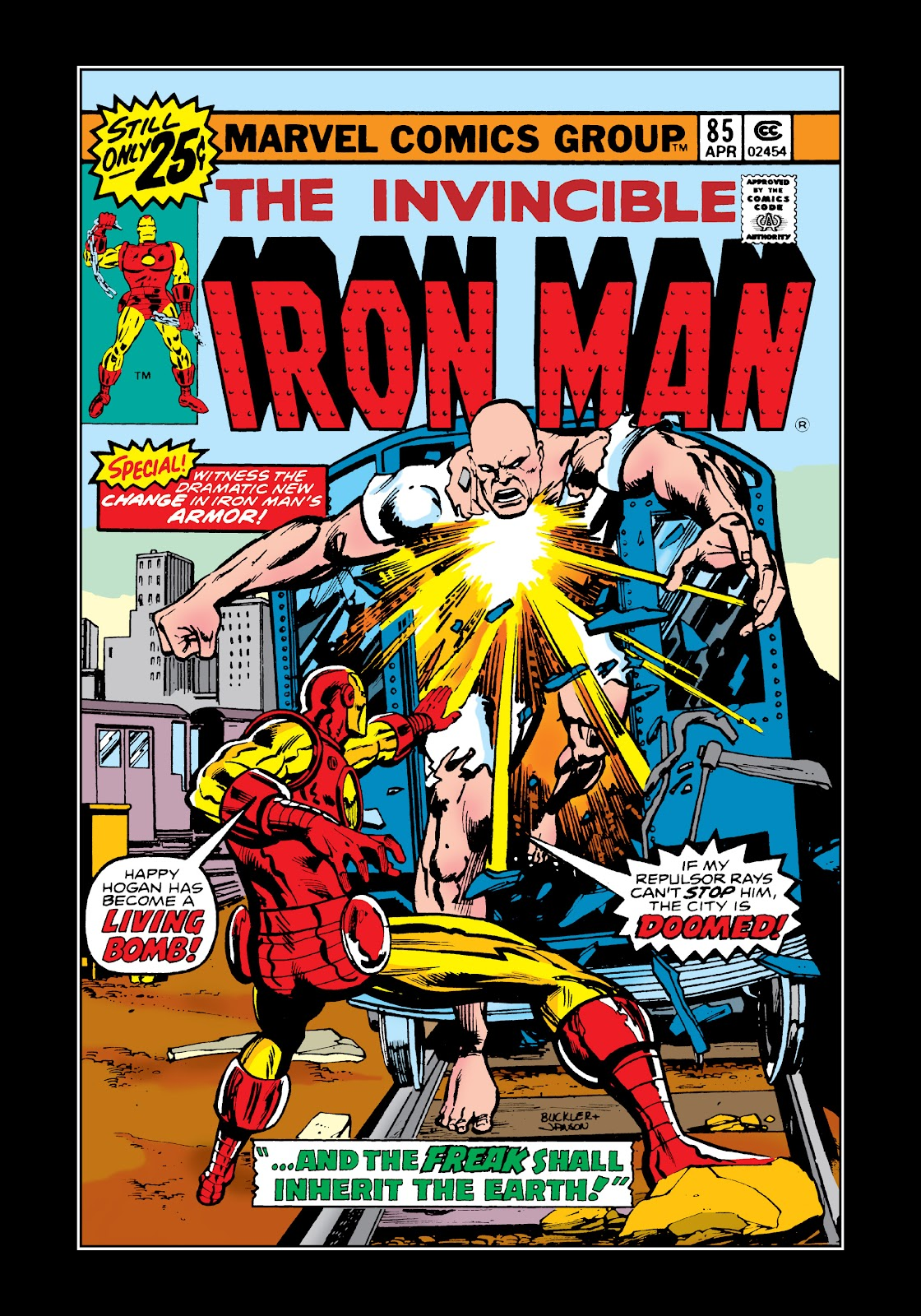 Read online Marvel Masterworks: The Invincible Iron Man comic -  Issue # TPB 11 (Part 1) - 66