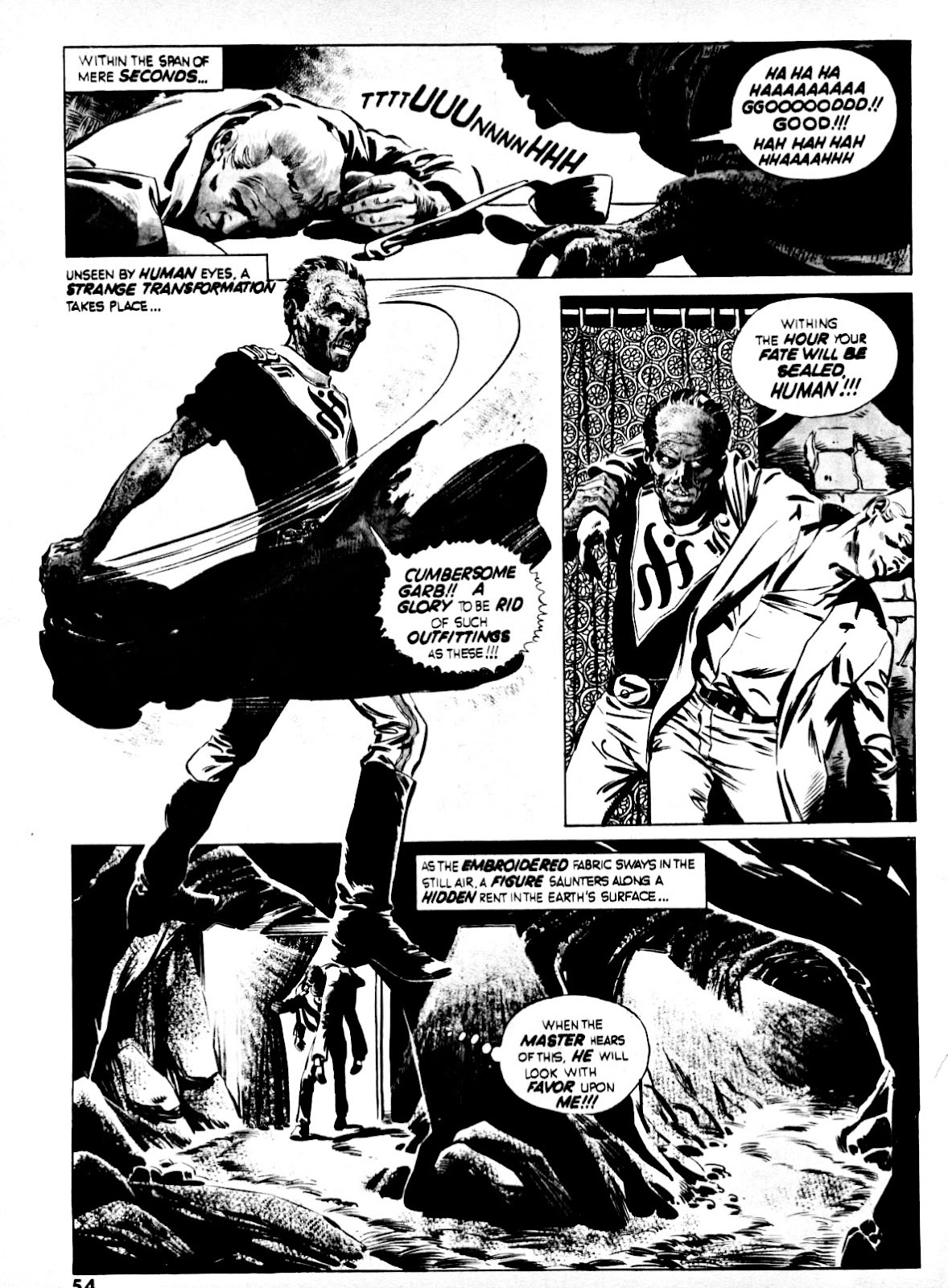 Nightmare (1970) issue 14 - Page 52