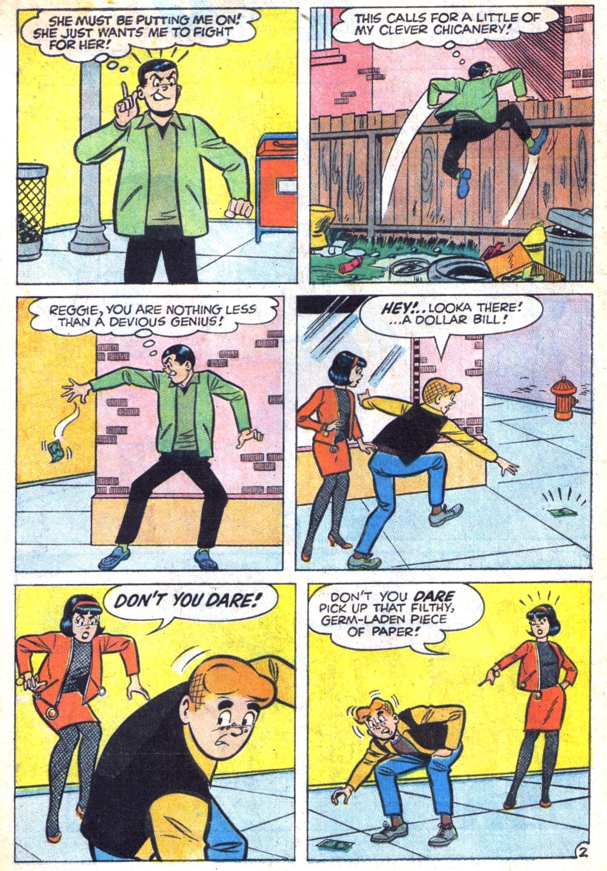 Read online Archie (1960) comic -  Issue #169 - 4