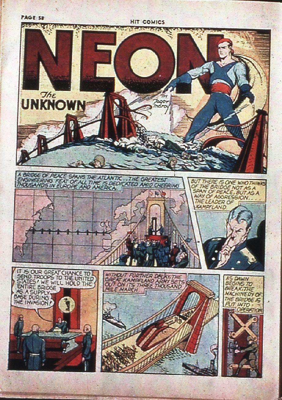 Read online Hit Comics comic -  Issue #4 - 60