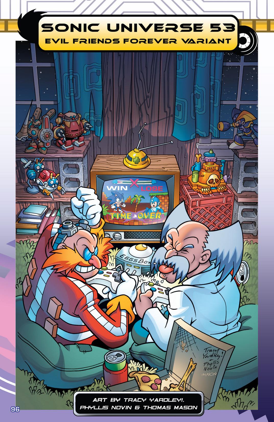 Read online Sonic Mega Man Worlds Collide comic -  Issue # Vol 2 - 114