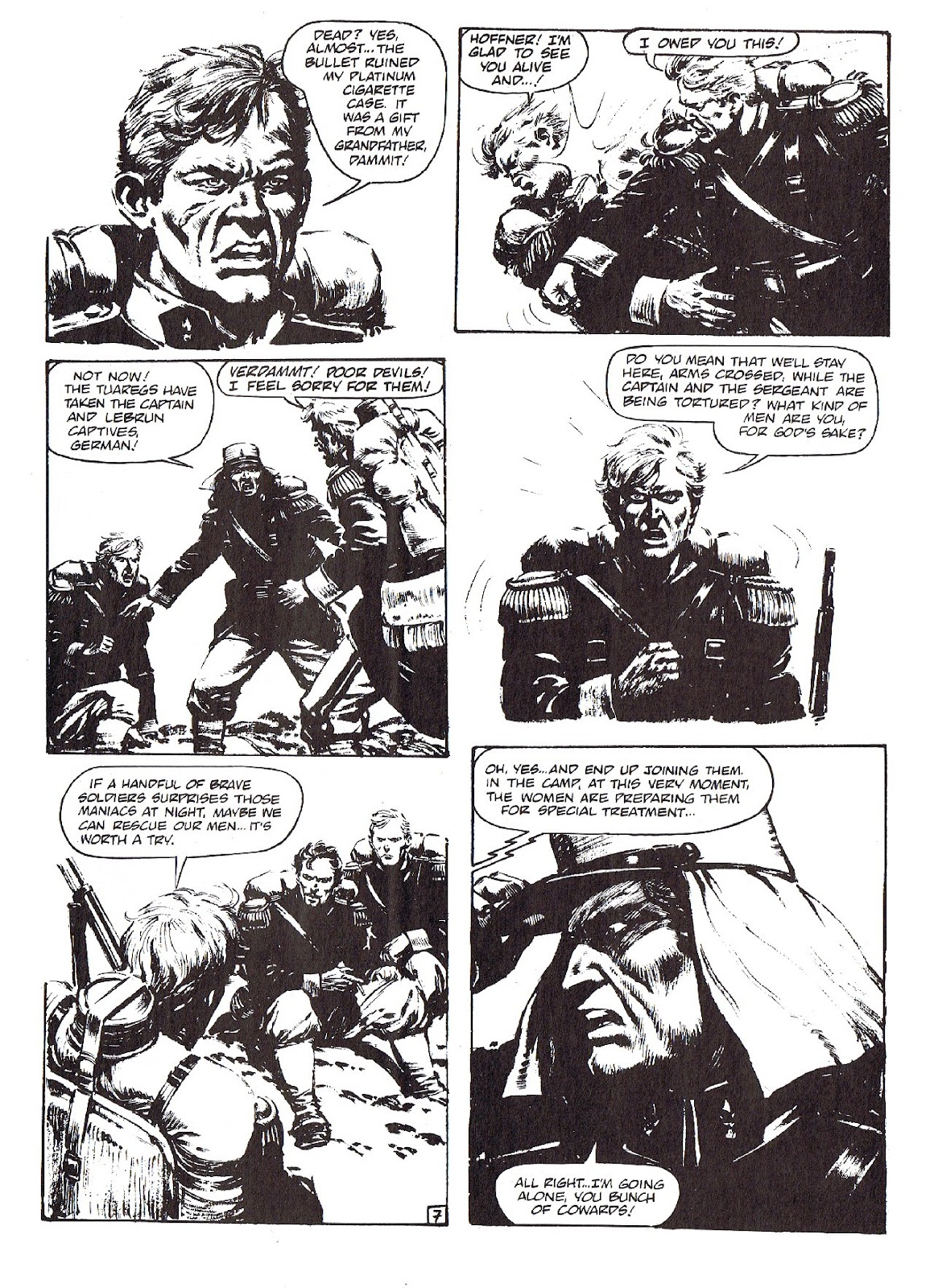 Read online Merchants of Death comic -  Issue #4 - 9
