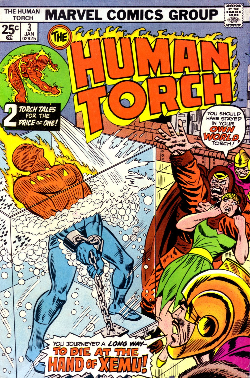 The Human Torch (1974) issue 3 - Page 1