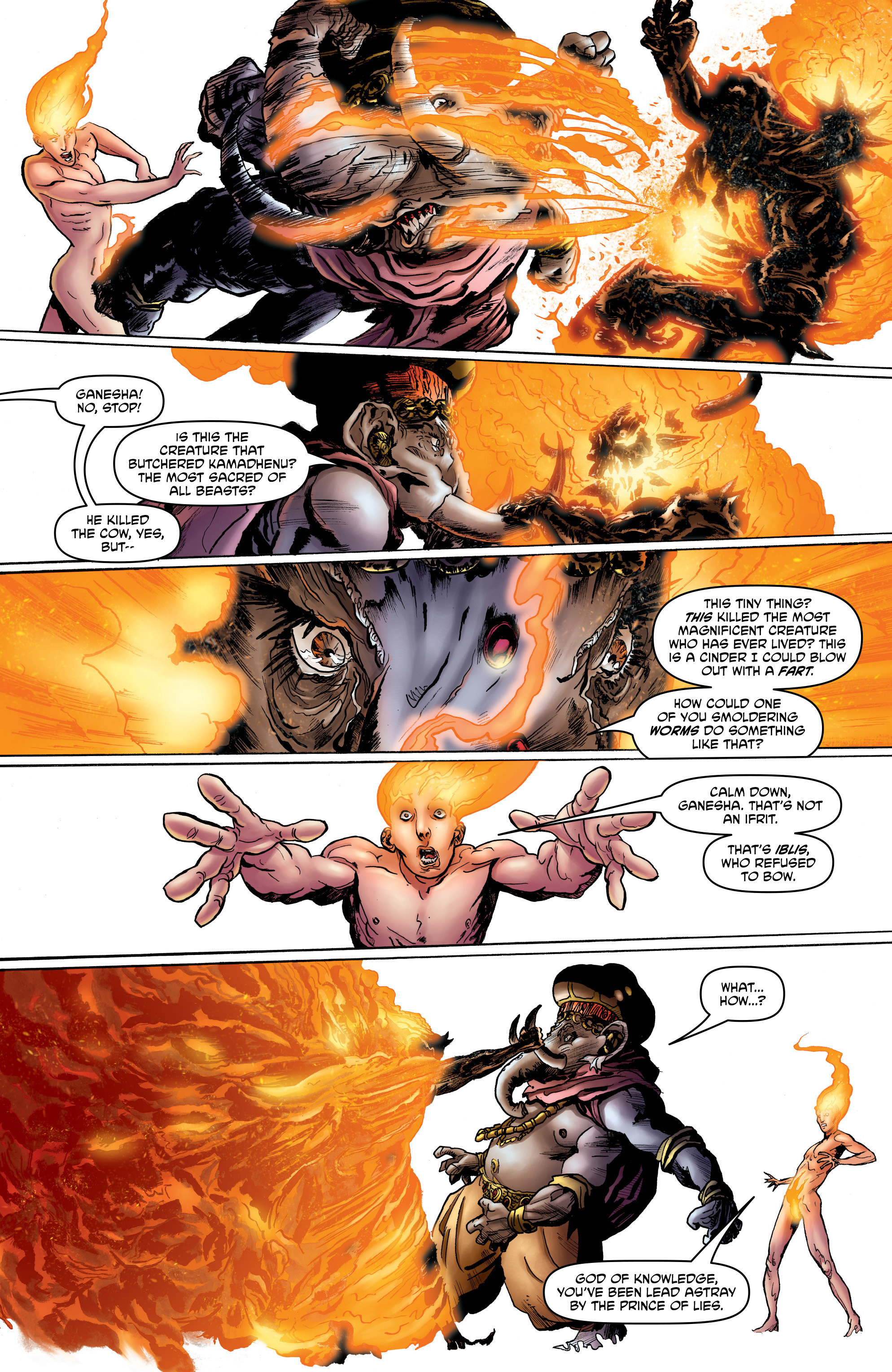 Read online God is Dead: Book of Acts comic -  Issue # Alpha - 24