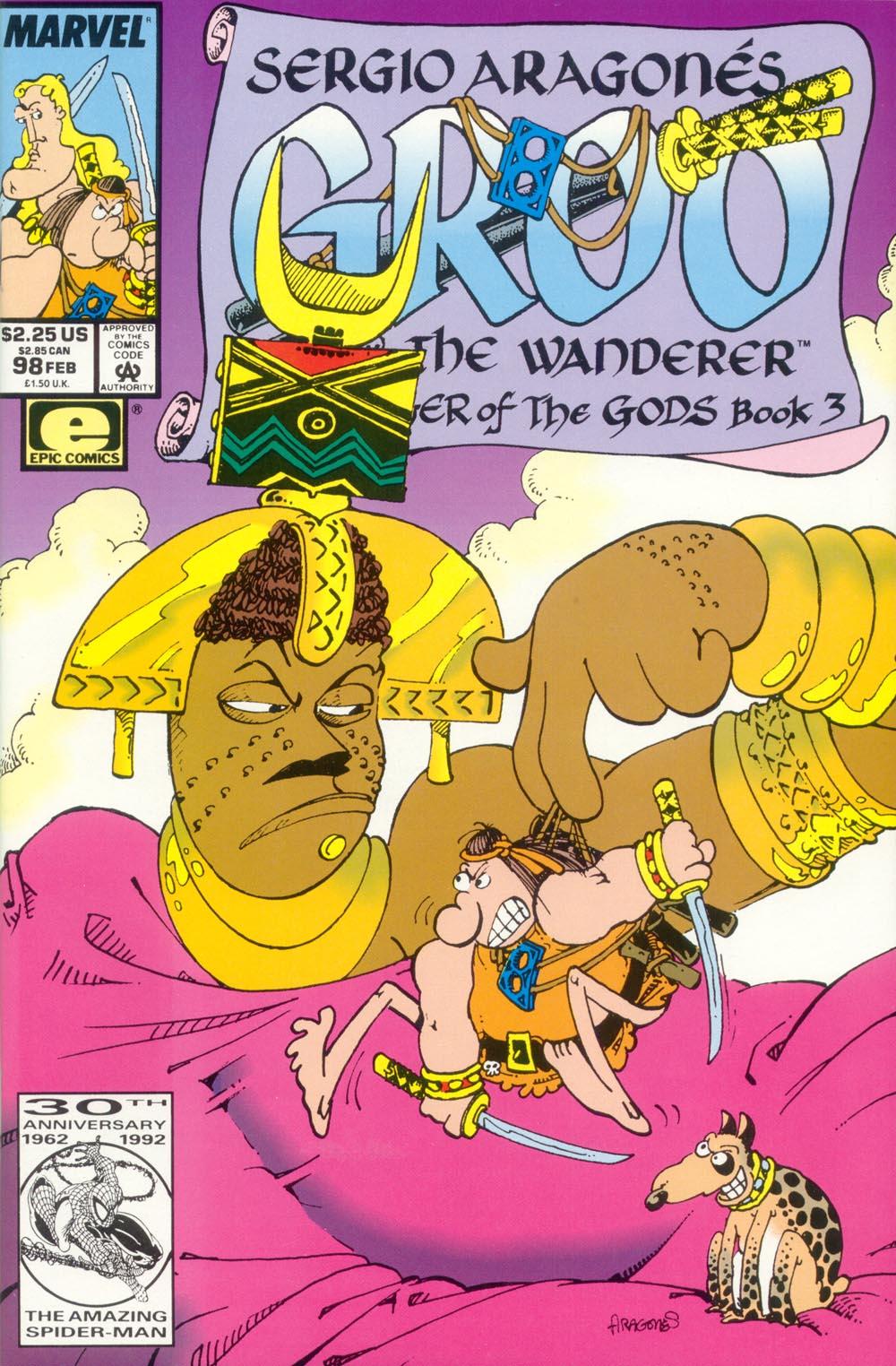 Read online Sergio Aragonés Groo the Wanderer comic -  Issue #98 - 1
