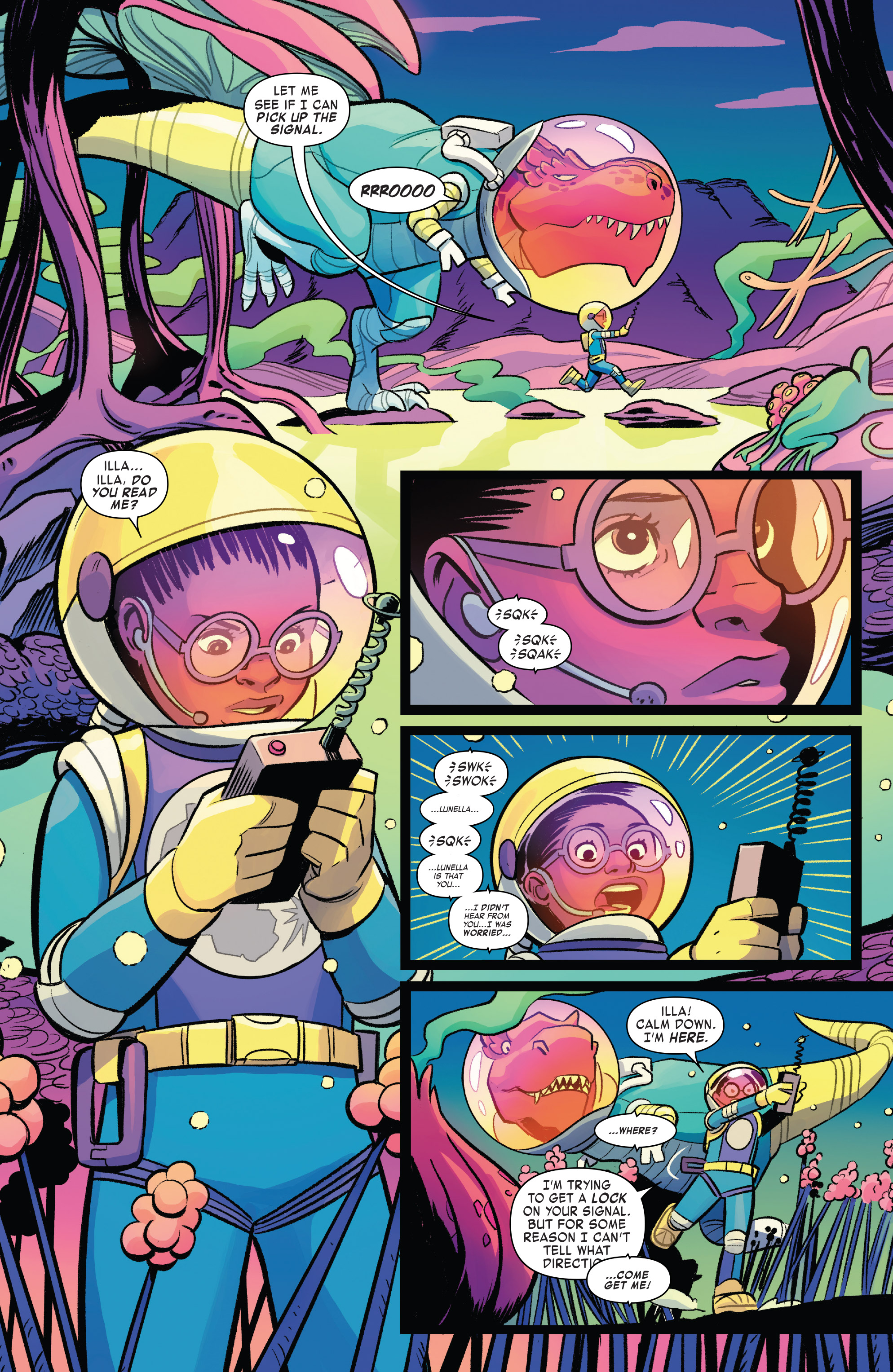 Read online Moon Girl And Devil Dinosaur comic -  Issue #19 - 19