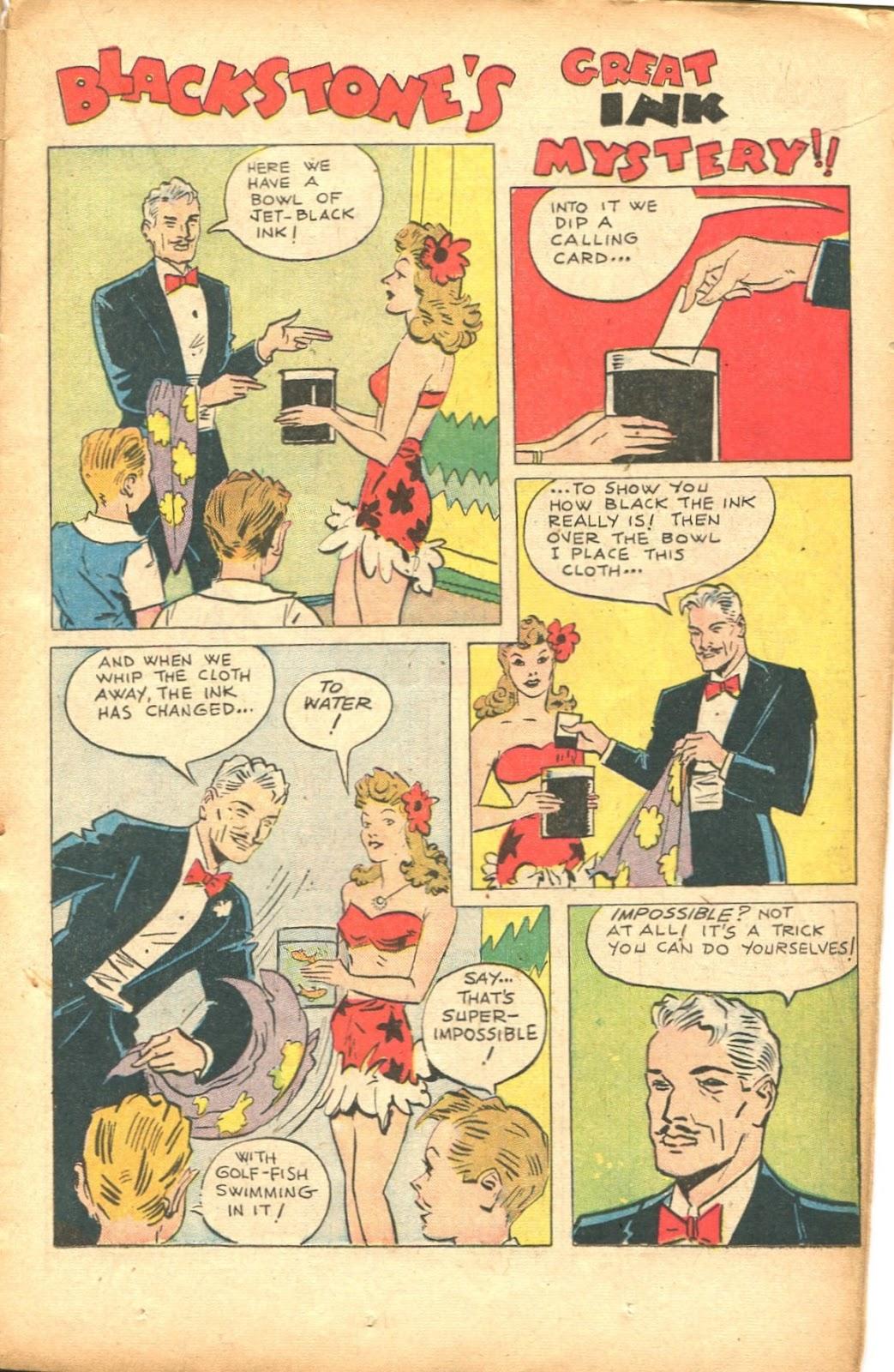 Read online Super-Magician Comics comic -  Issue #35 - 17